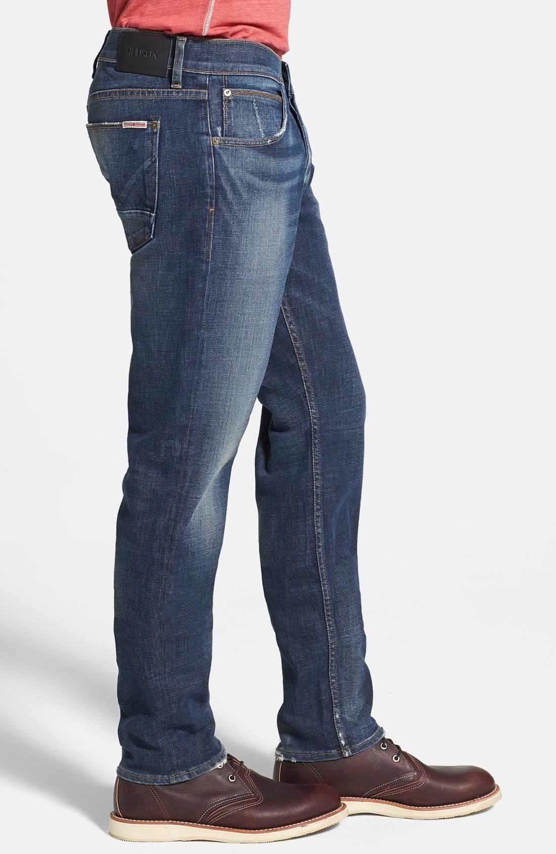 Alternate Image 3  - Hudson Jeans 'Blake' Slim Straight Leg Jeans (Thieves)