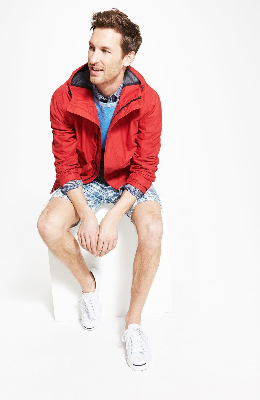 Alternate Image 5  - Grayers 'Onlan' Colorblock Trim Fit Crewneck Sweater