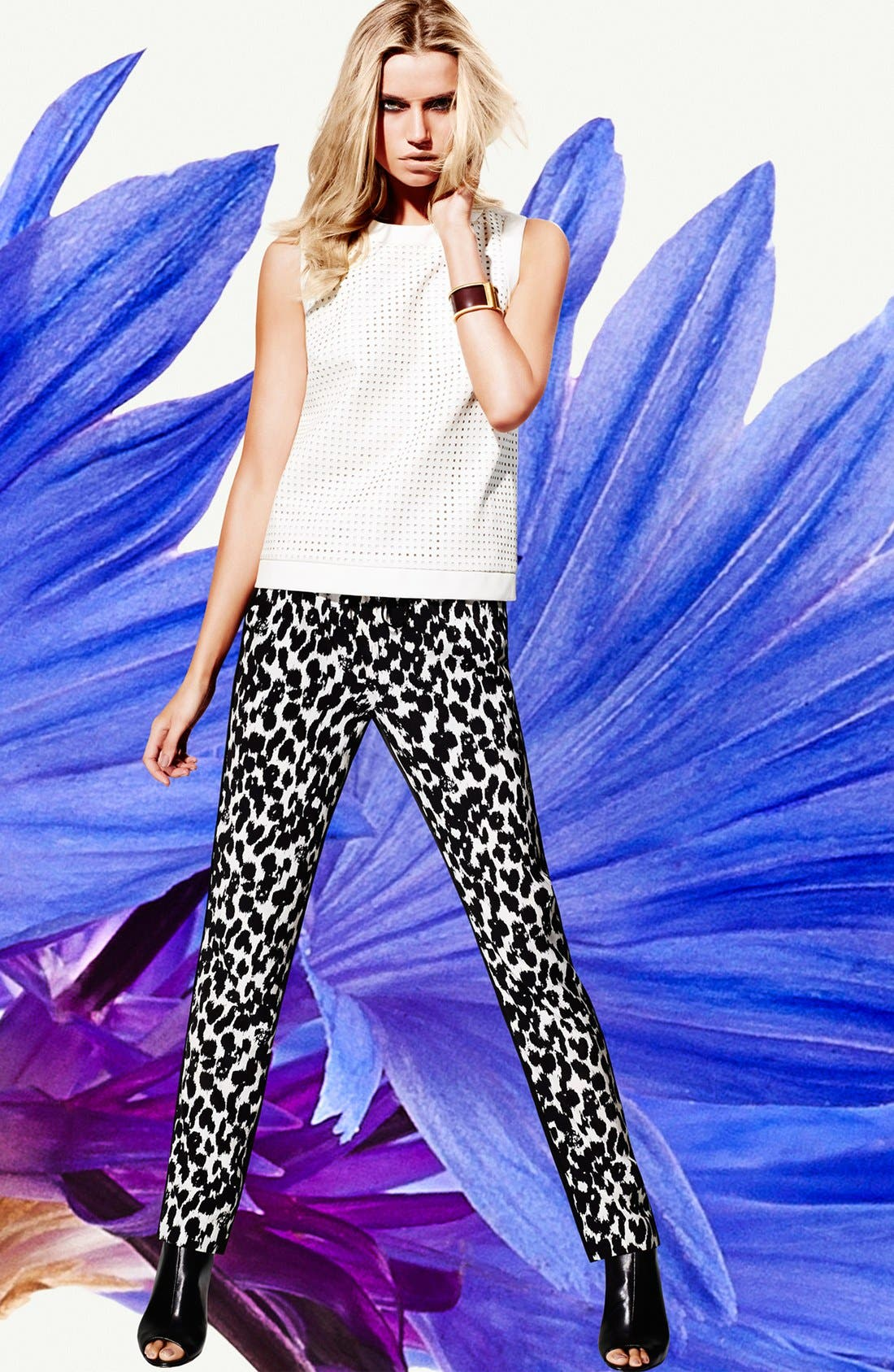 Alternate Image 1 Selected - Vince Camuto Top, Pants & Accessories