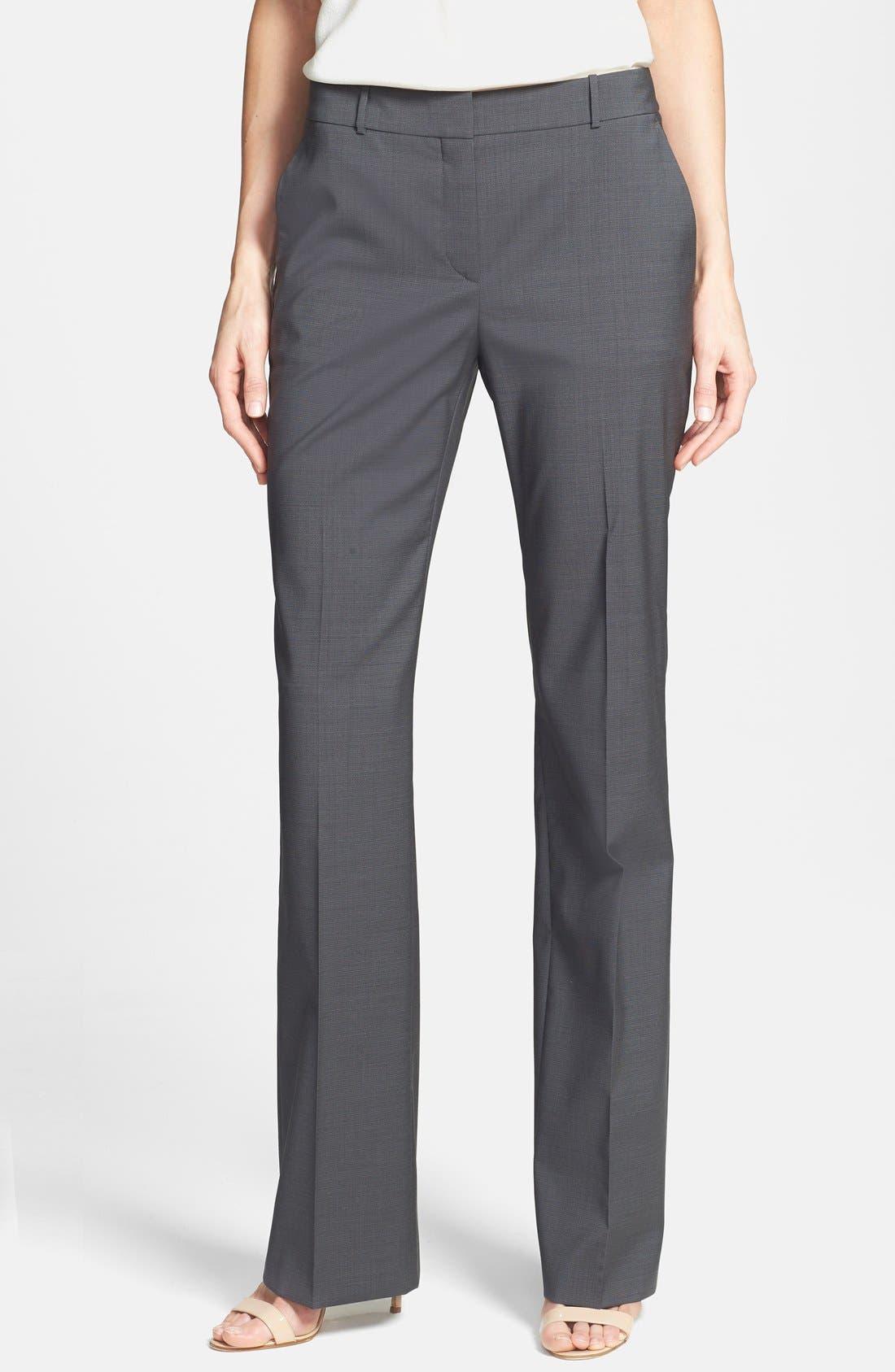 Main Image - BOSS HUGO BOSS 'Taliani' Stretch Wool Blend Pants