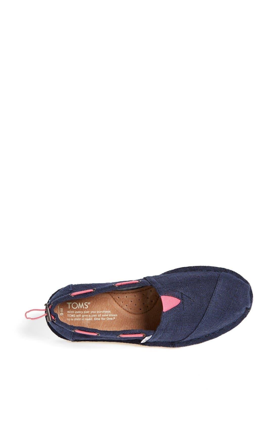 Alternate Image 3  - TOMS 'Bimini - Stitchout' Slip-On (Women)