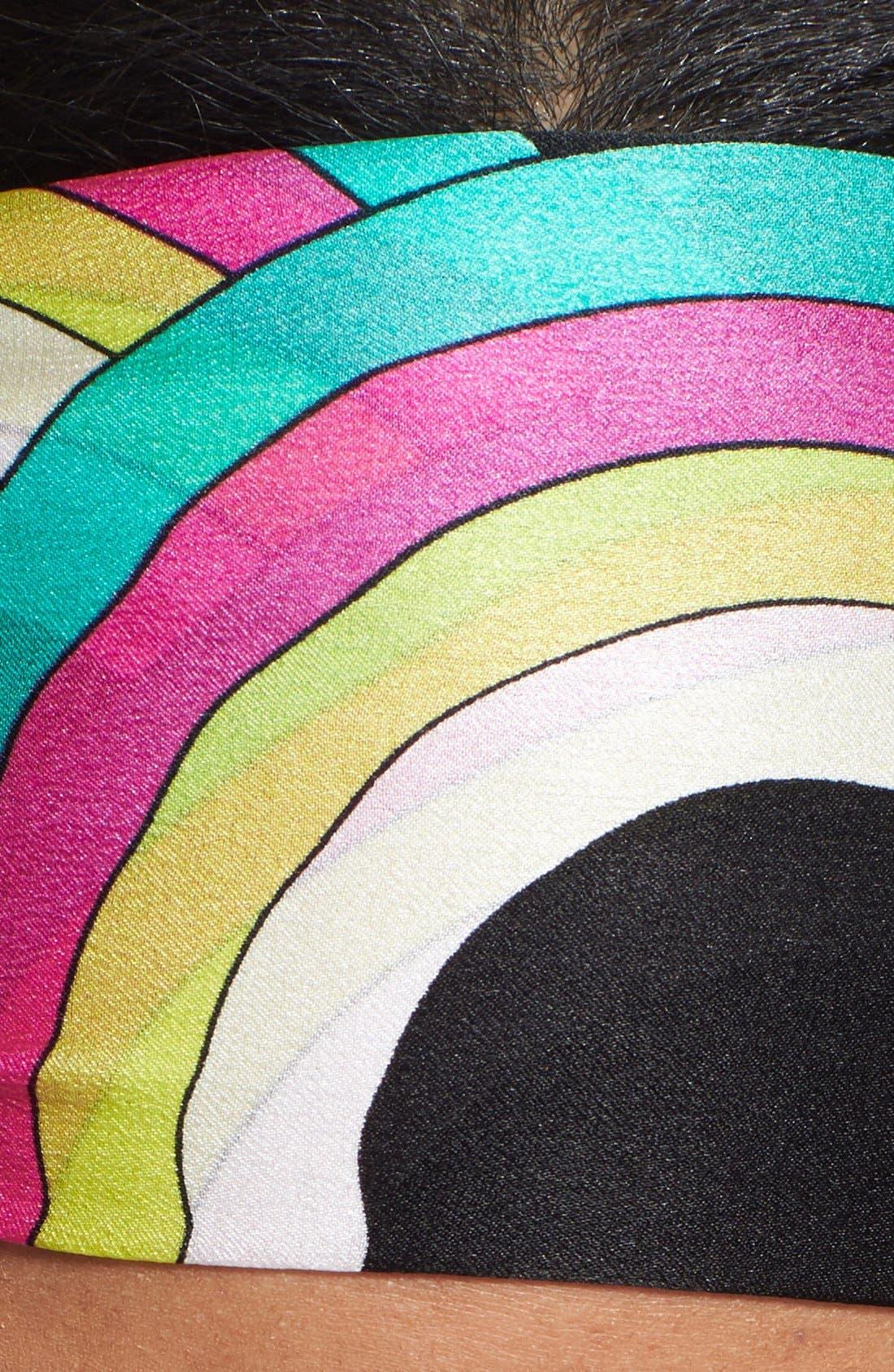 Alternate Image 3  - Echo 'Reflected Circle Links' Silk Scarf