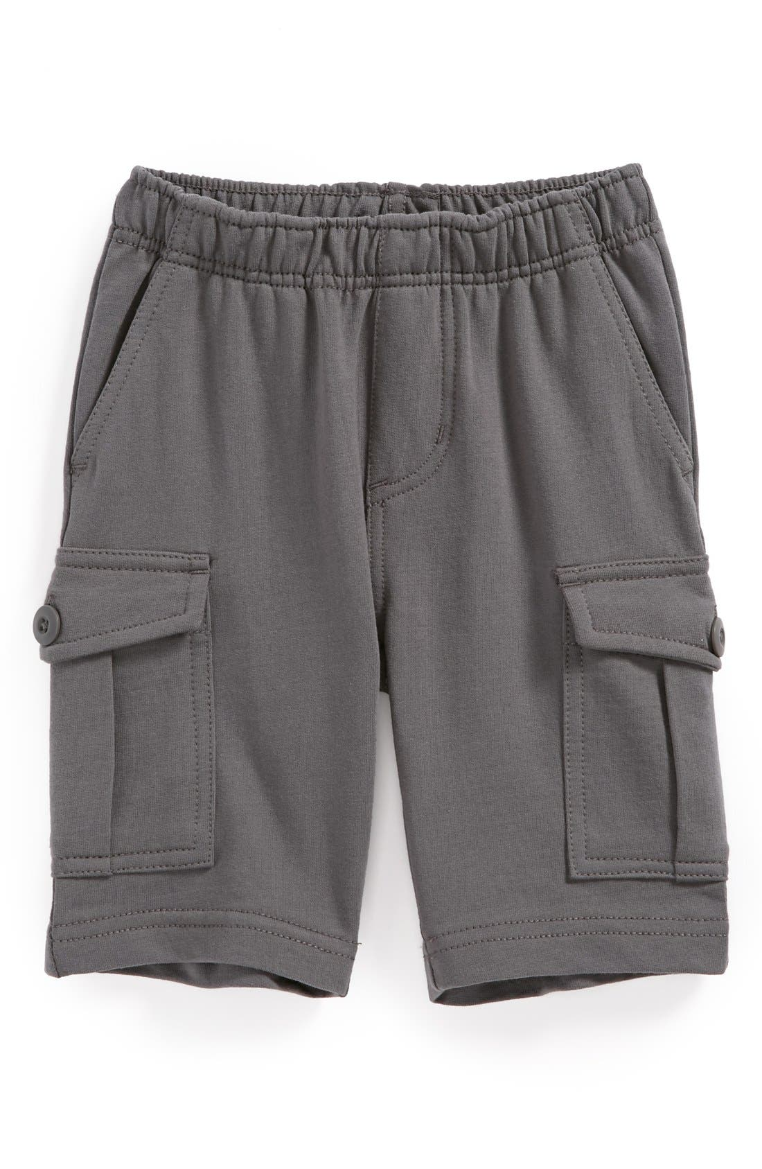 Alternate Image 1 Selected - Tea Collection French Terry Cargo Shorts (Toddler Boys)