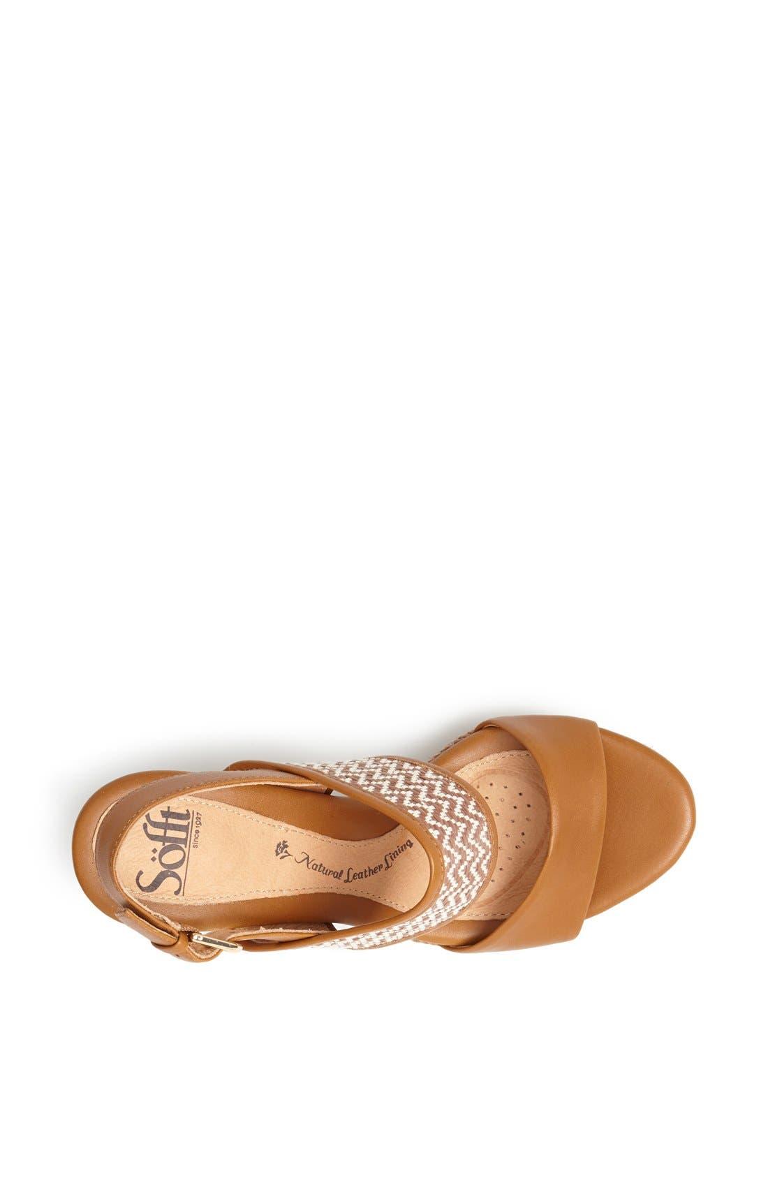 Alternate Image 3  - Söfft 'Sarita' Platform Sandal