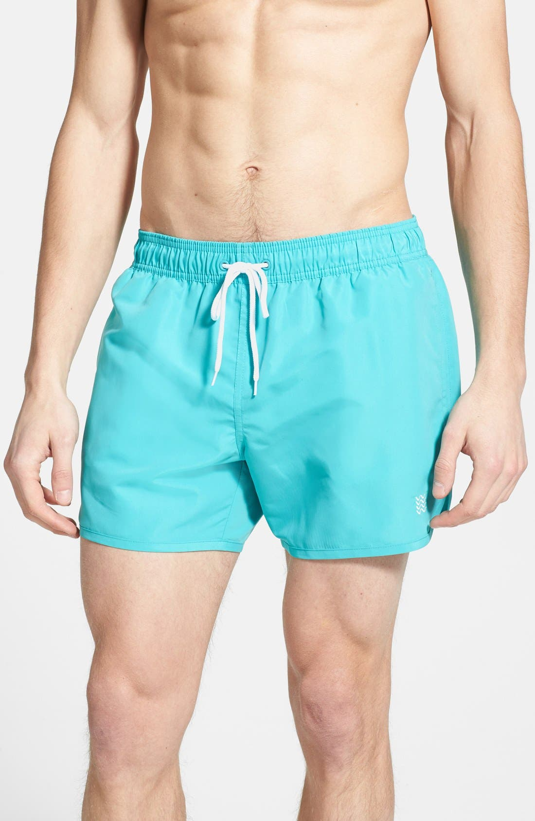 Alternate Image 1 Selected - Topman Swim Trunks