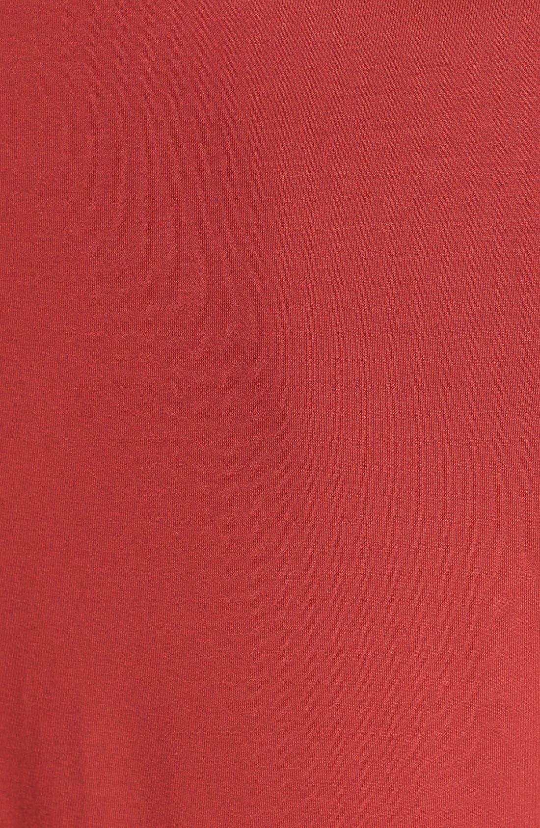 Alternate Image 3  - Eileen Fisher Bateau Neck Jersey Dress