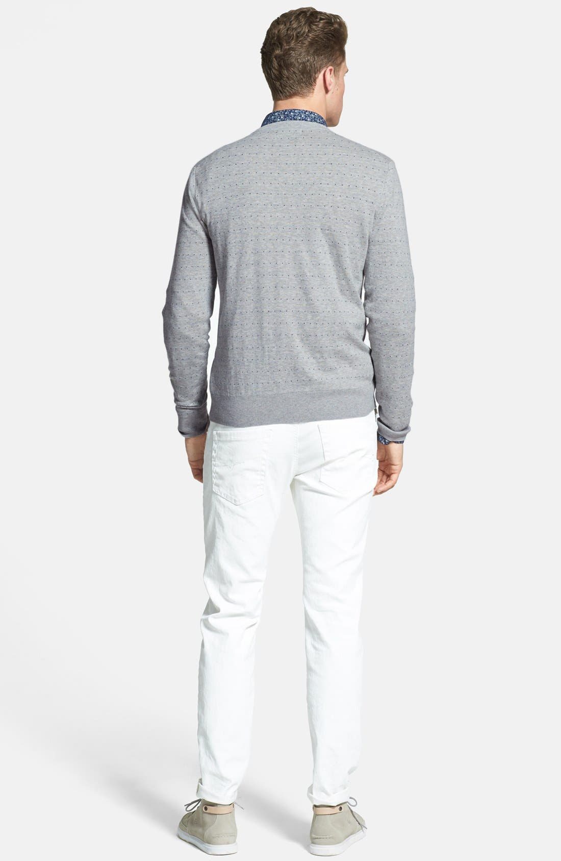 Alternate Image 5  - Fred Perry 'Dot' Crewneck Sweater