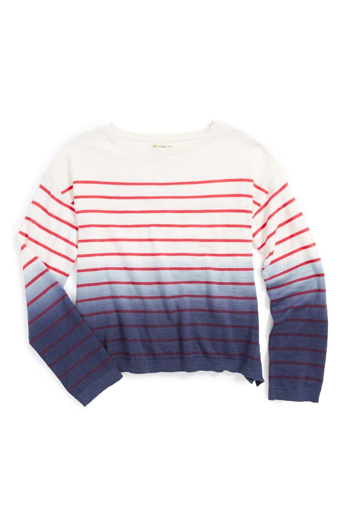 Alternate Image 1 Selected - Tucker + Tate 'Candy' Sweater (Big Girls)