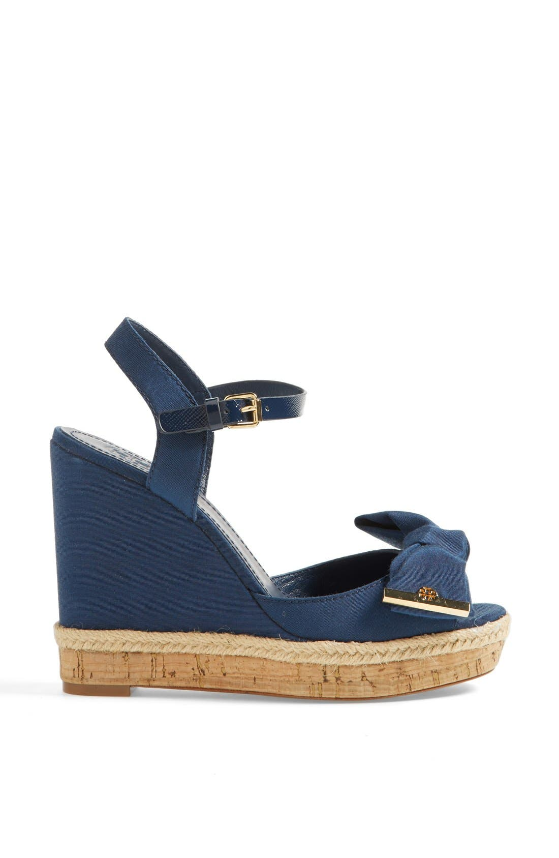 Alternate Image 4  - Tory Burch 'Penny' Wedge Sandal