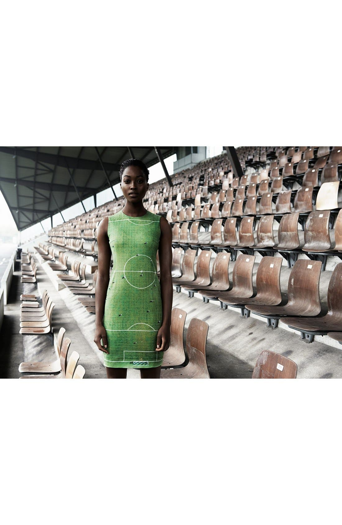 Alternate Image 3  - Akris punto Field Print Sheath Dress