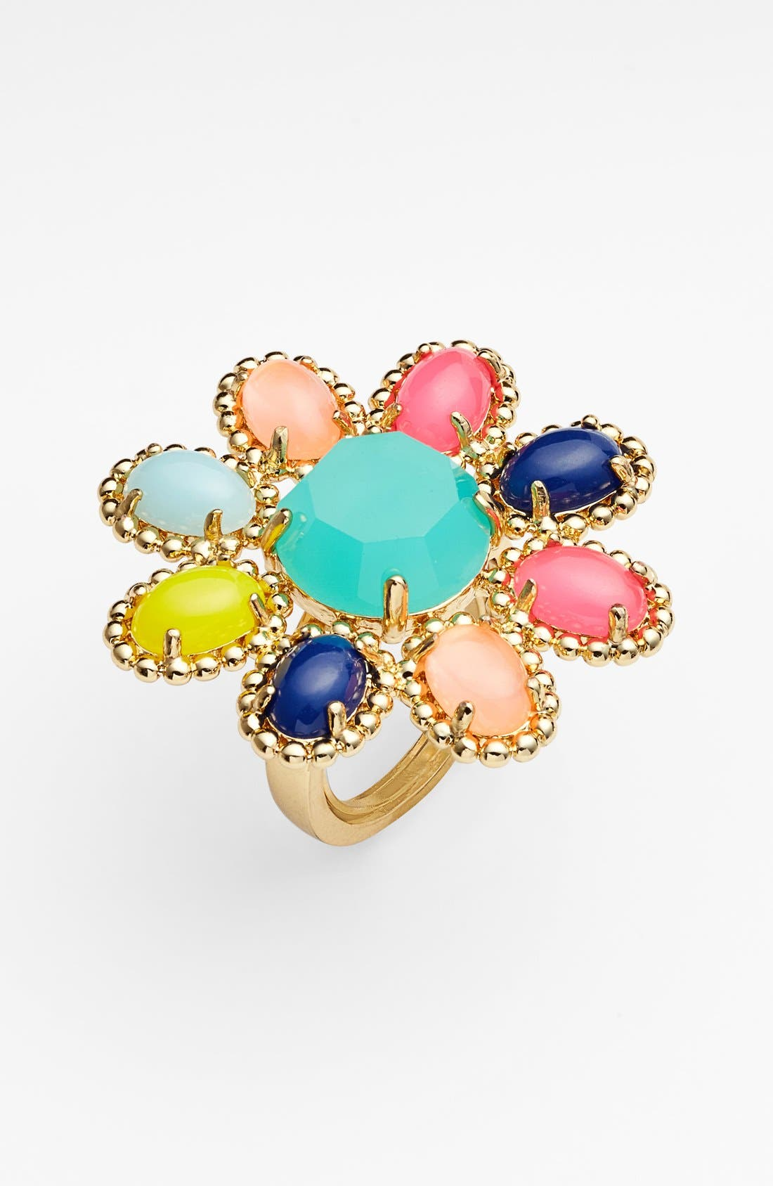 Alternate Image 1 Selected - kate spade new york 'amalfi mosaic' cocktail ring