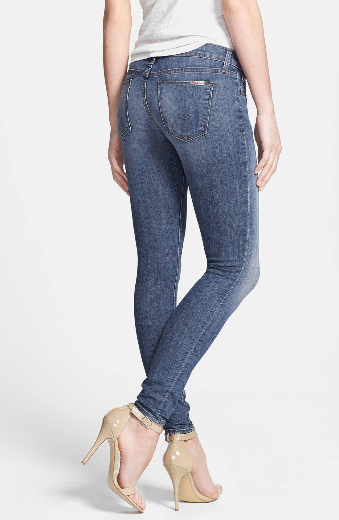 Alternate Image 2  - Hudson Jeans 'Krista' Super Skinny Jeans (Floyd 2)