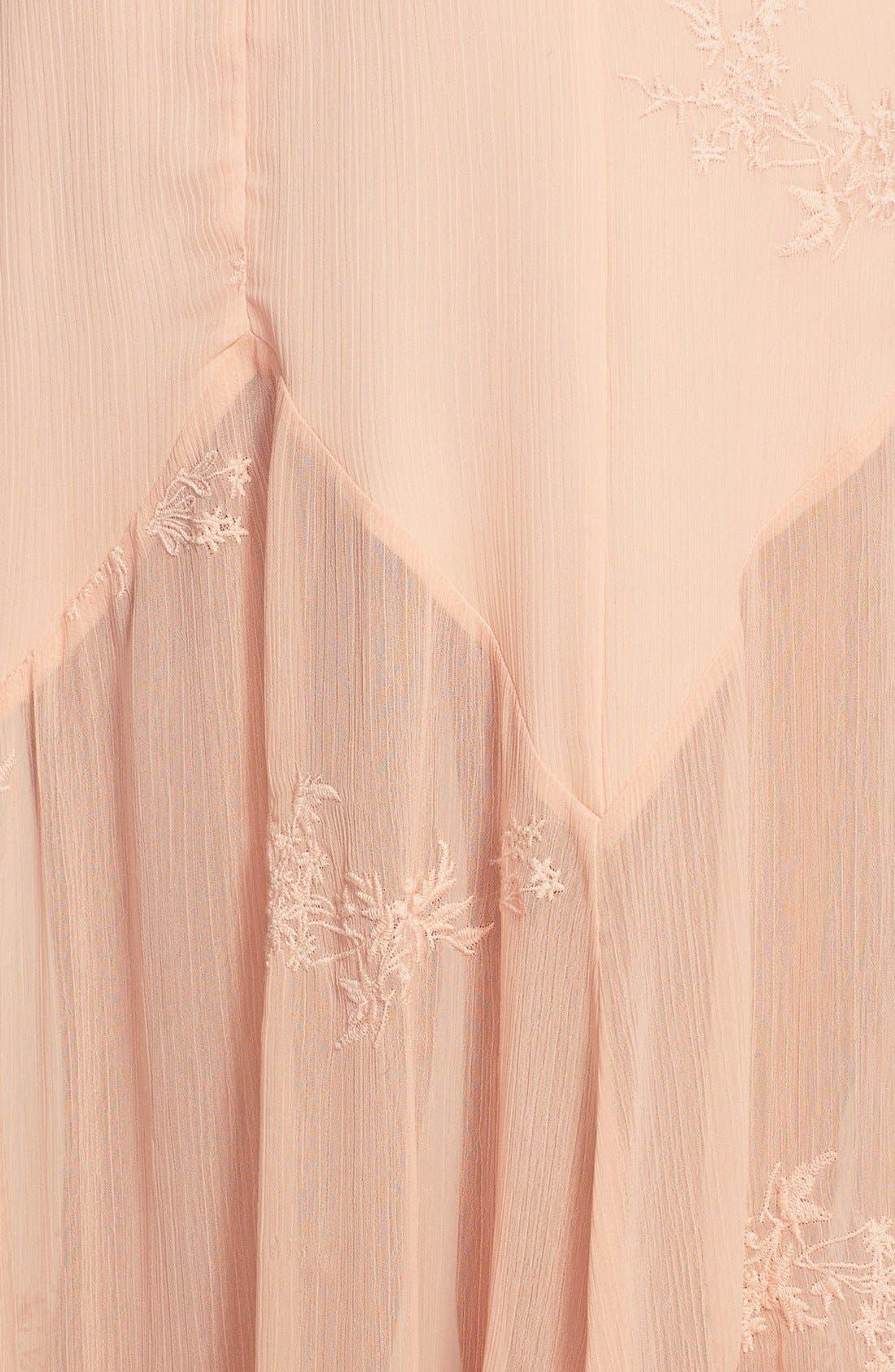 Alternate Image 3  - June & Hudson Embroidered Maxi Dress
