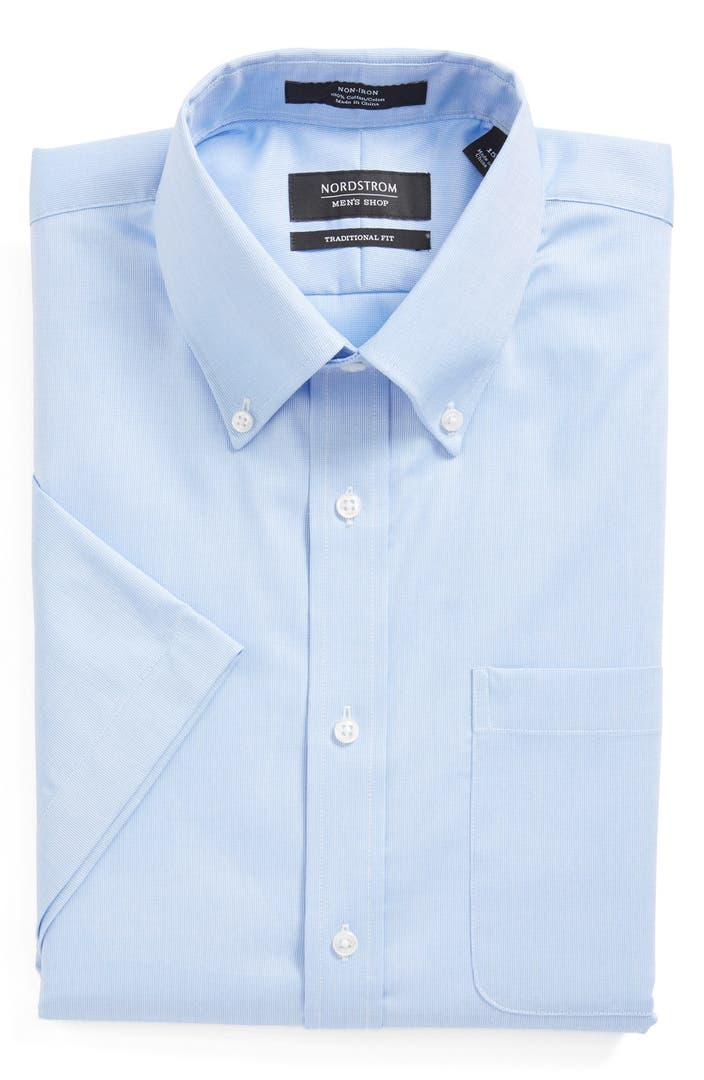 Nordstrom Men's Shop Smartcare™ Traditional Fit Check ...  From Dress Shirts Nordstrom