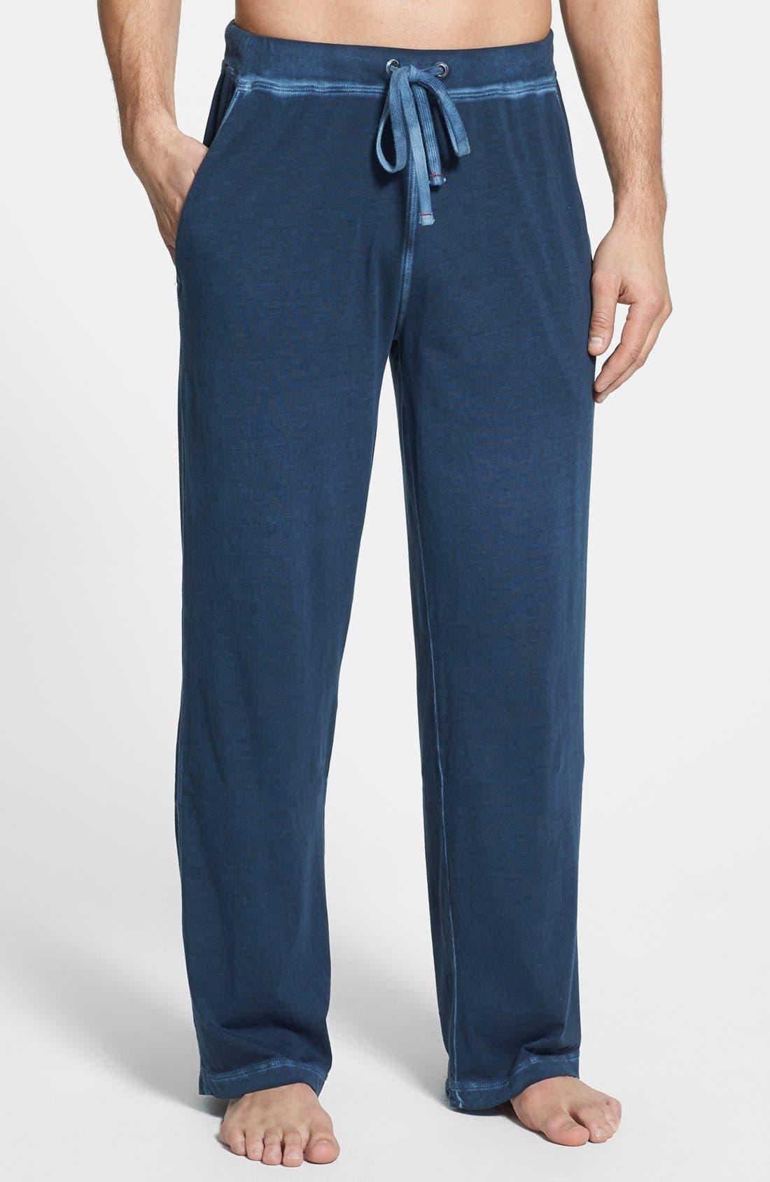 Alternate Image 1 Selected - Daniel Buchler Peruvian Pima Cotton Lounge Pants