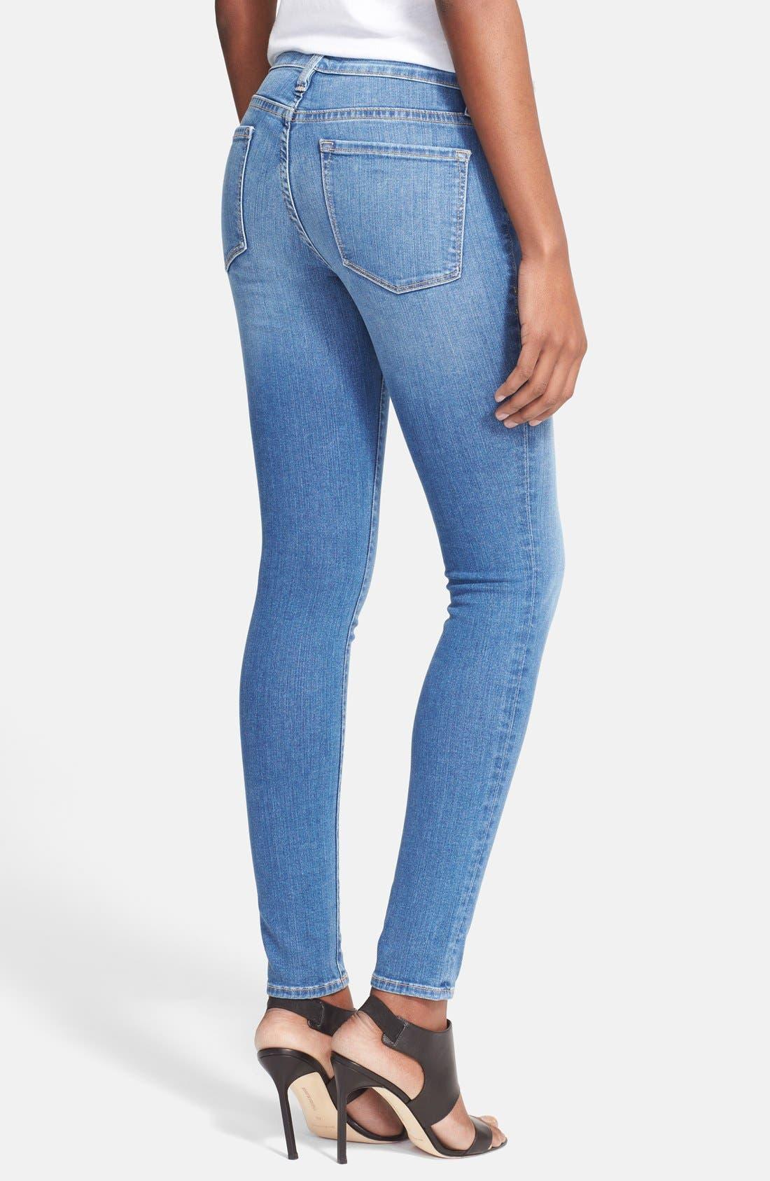 Alternate Image 2  - Frame Denim 'Le Skinny de Jeanne' Jeans (Abbot Kinney)