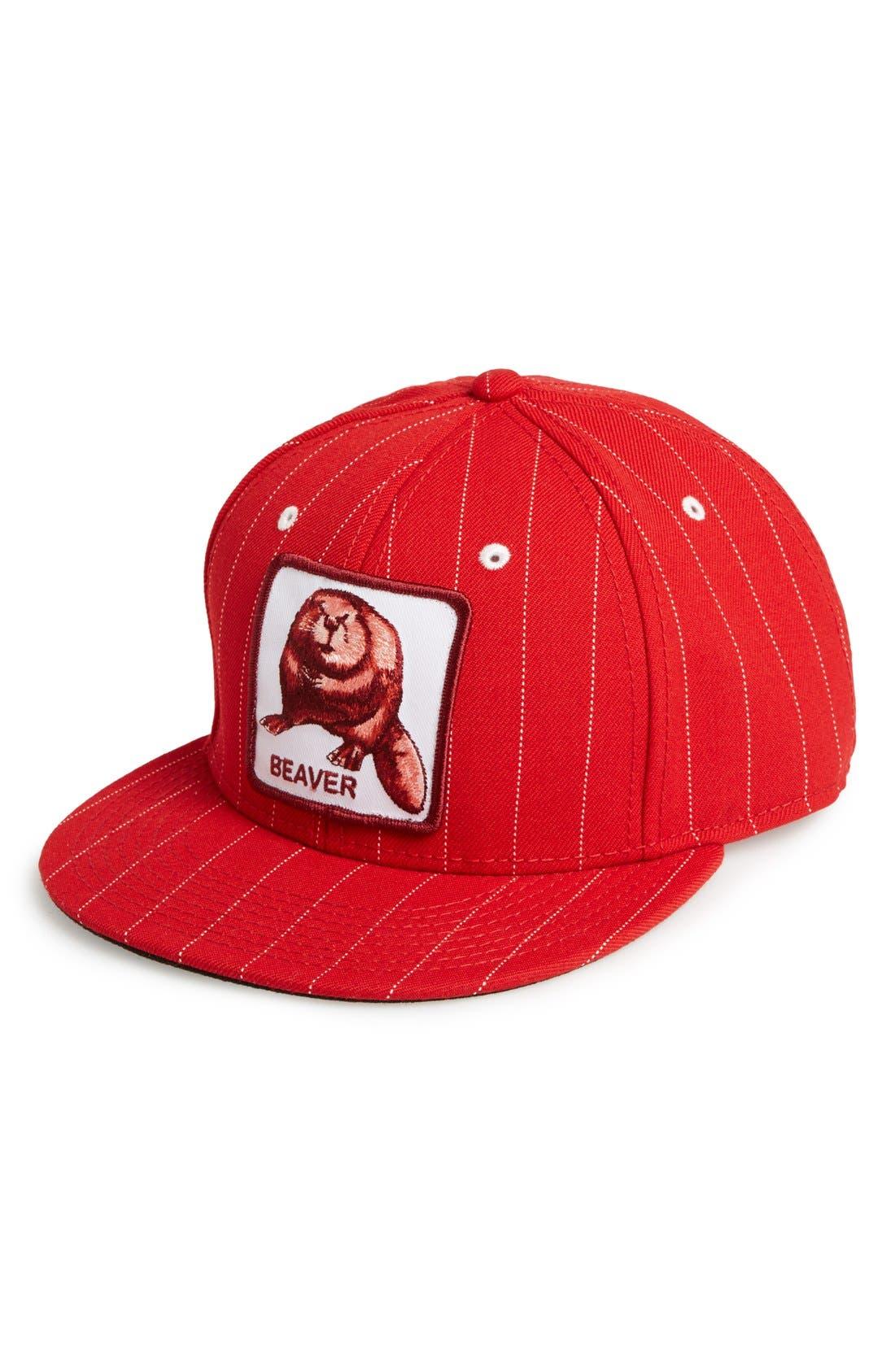 Main Image - Goorin Brothers 'Beaver Dam' Baseball Cap