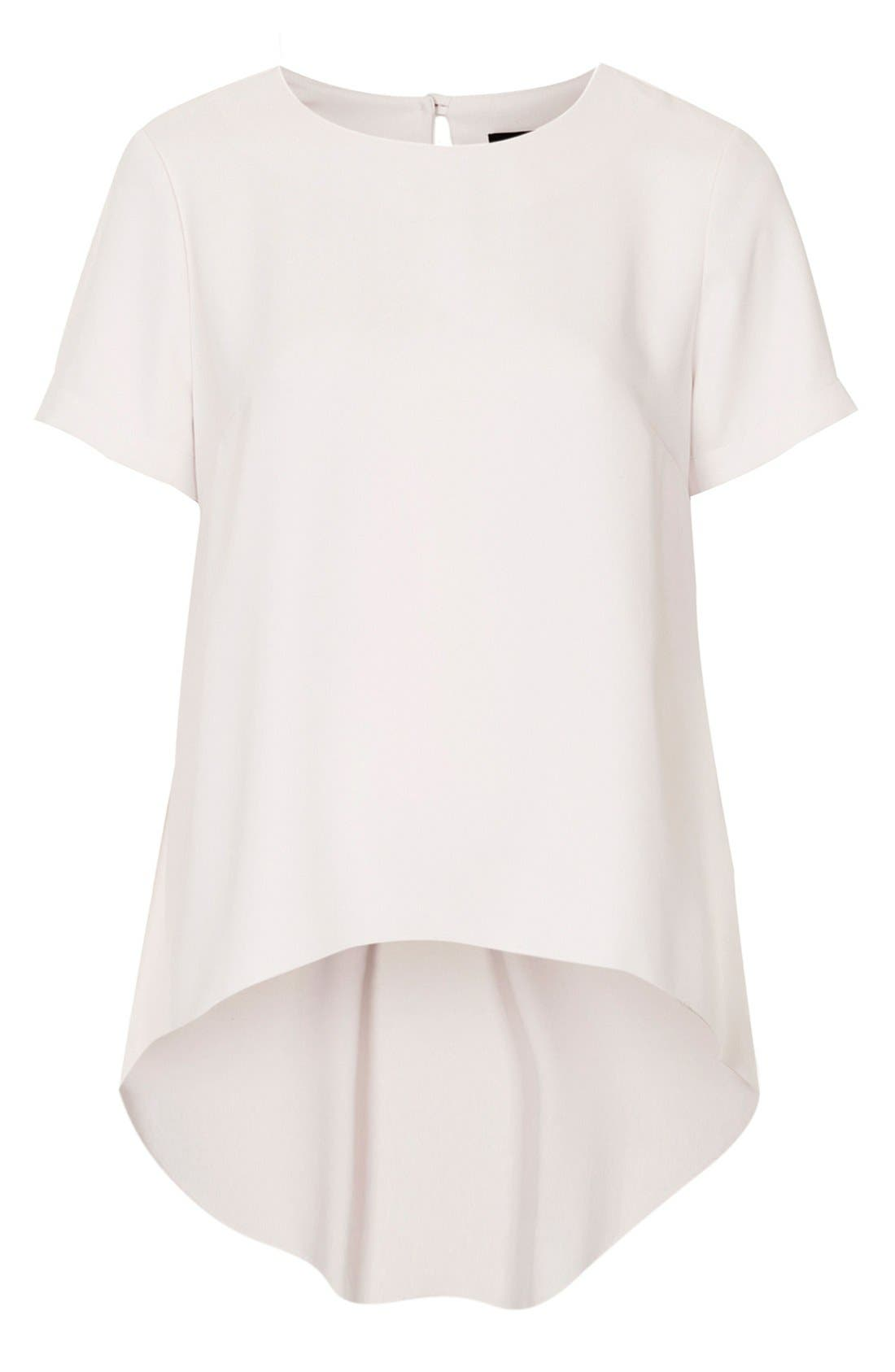 Alternate Image 3  - Topshop High/Low Tunic