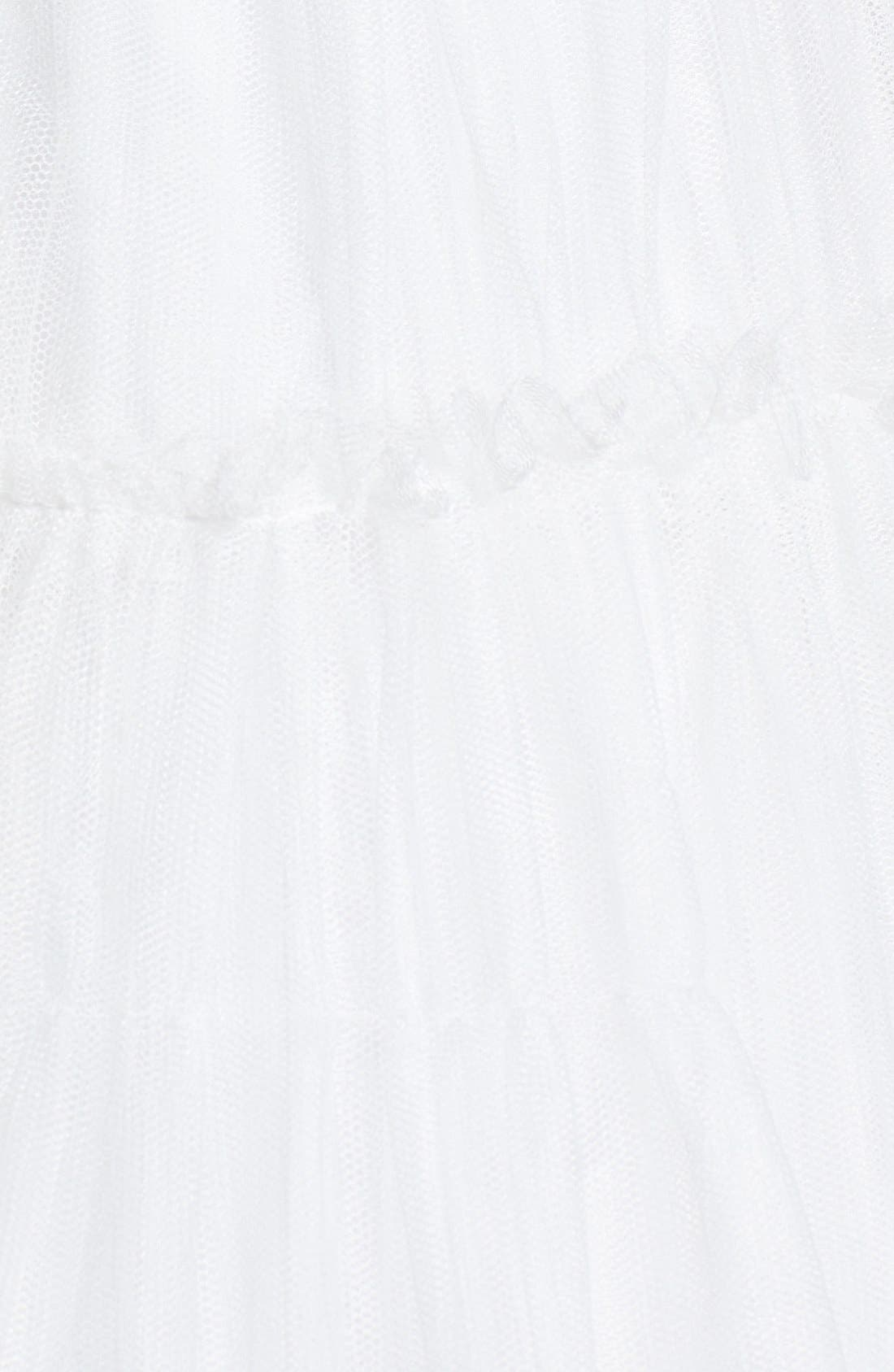 Alternate Image 4  - Aidan Mattox Tulle Fit & Flare Dress