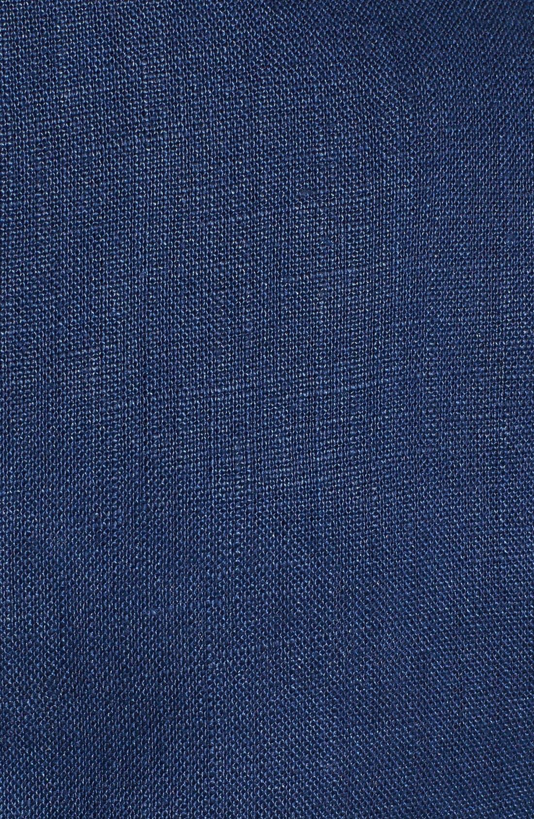 Alternate Image 3  - Gibson Collarless Linen Jacket