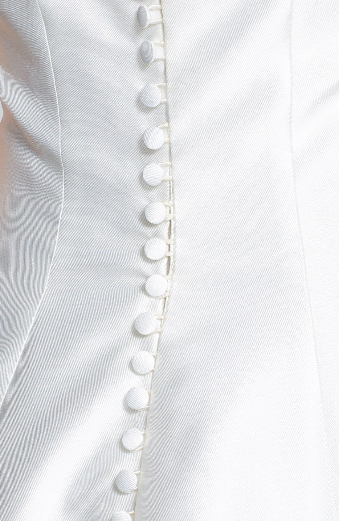 Alternate Image 3  - Jesús Peiró Martina Mikado Halter Dress