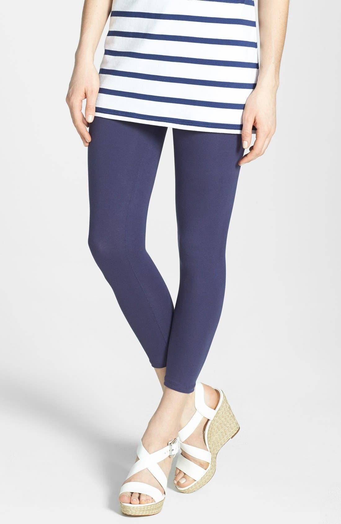 Main Image - Yummie by Heather Thomson 'Nora' Control Top Skimmer Leggings (Online Only)