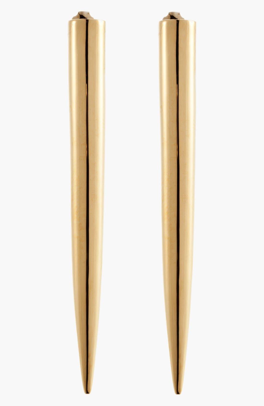 Main Image - Eddie Borgo Long Spike Stud Earrings