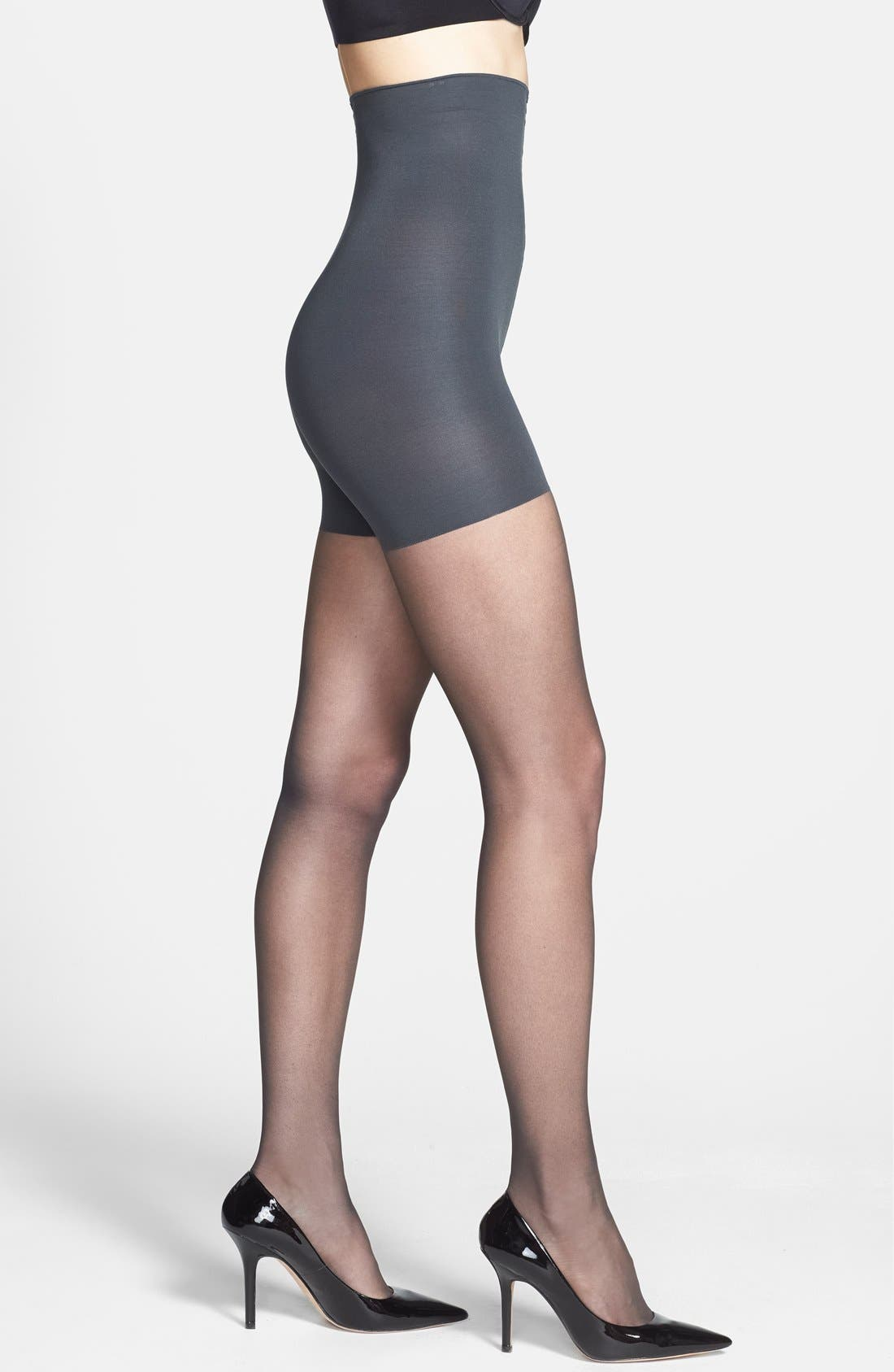 Alternate Image 1 Selected - Donna Karan 'The Nudes' High Waist Toner Hosiery