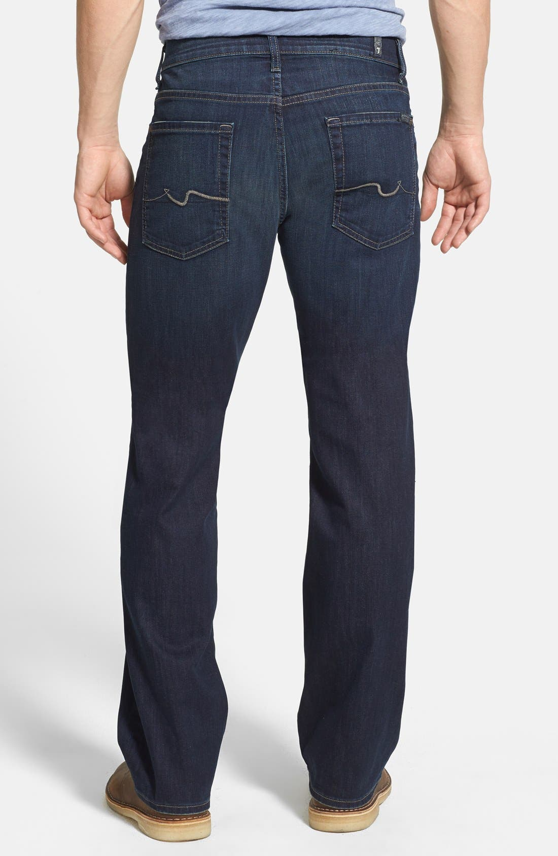Alternate Image 2  - 7 For All Mankind® 'Austyn - Luxe Performance' Relaxed Straight Leg Jeans (Angeleno Hills)