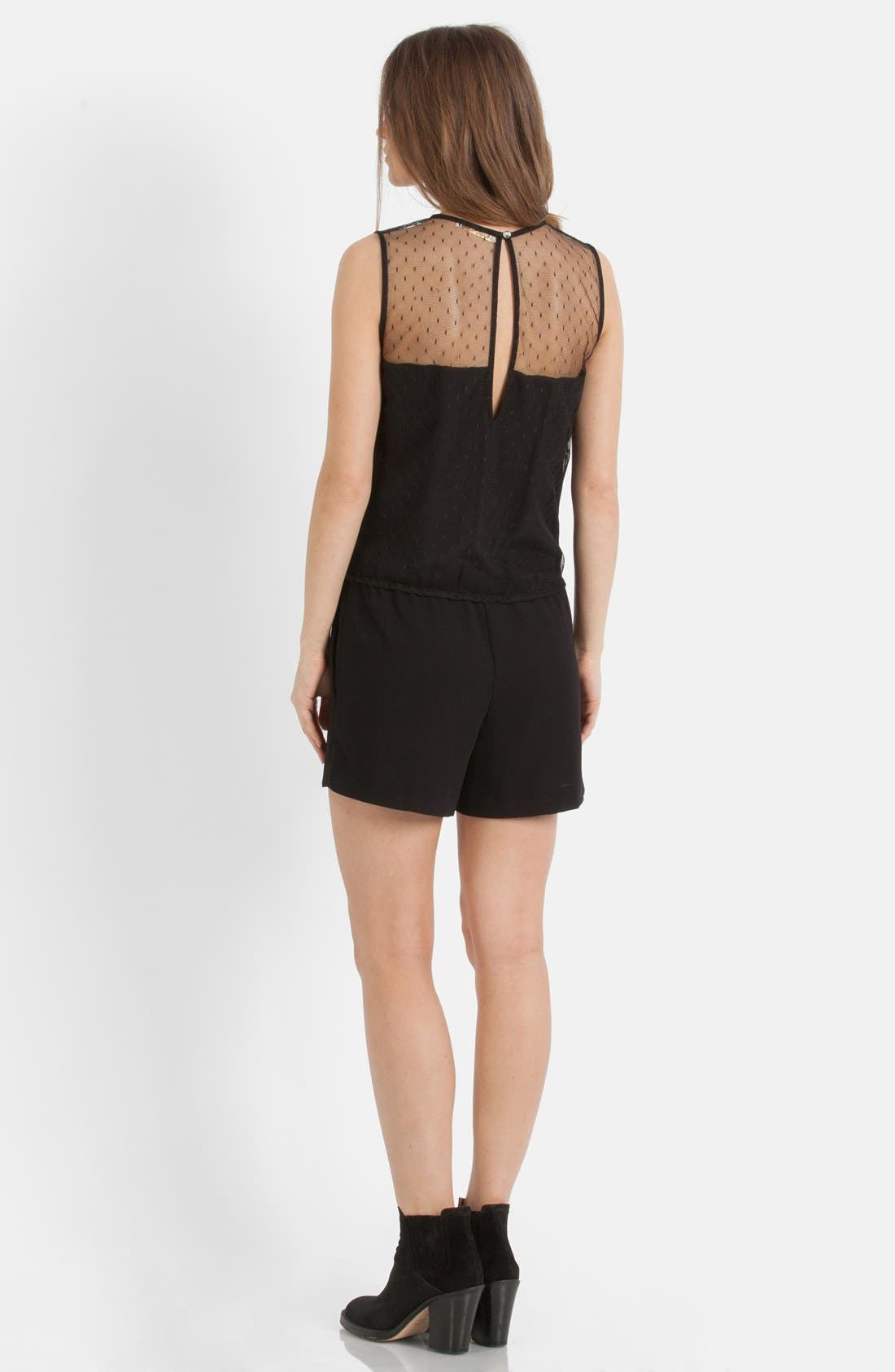Alternate Image 2  - maje Lace Yoke Romper