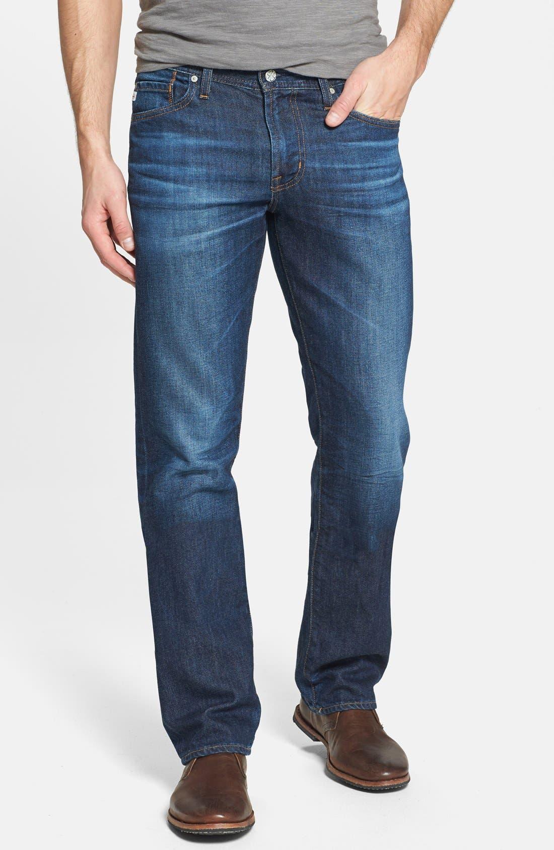Alternate Image 1 Selected - AG 'Protégé' Straight Leg Jeans (8 Year Gust)