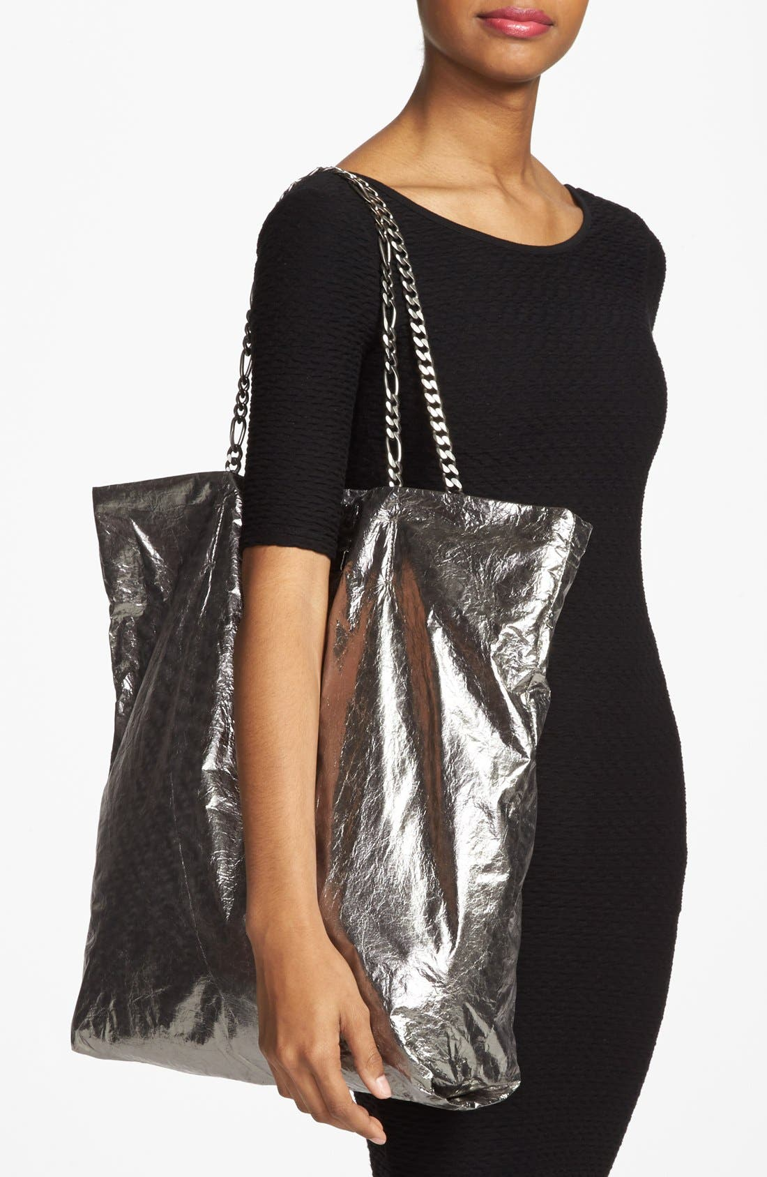 Alternate Image 2  - Lanvin 'Paper Bag' Laminated Lambskin Tote