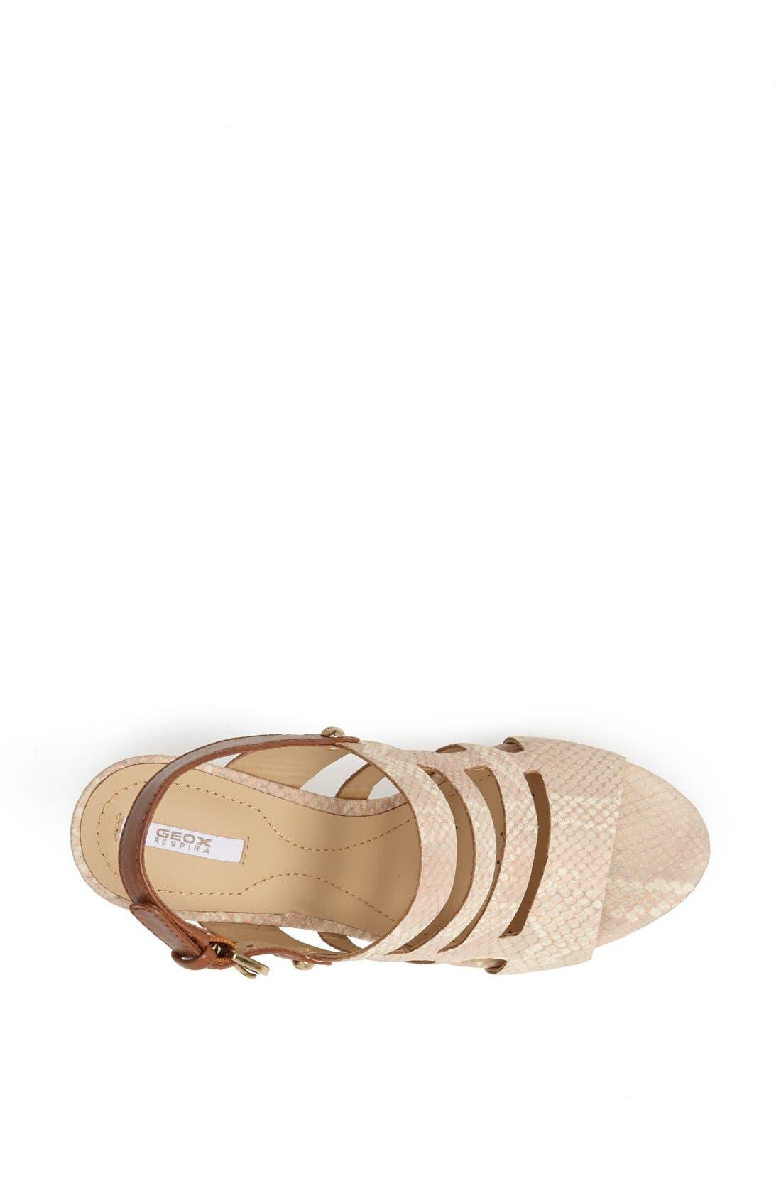 Alternate Image 3  - Geox 'Sibilla' Wedge Sandal