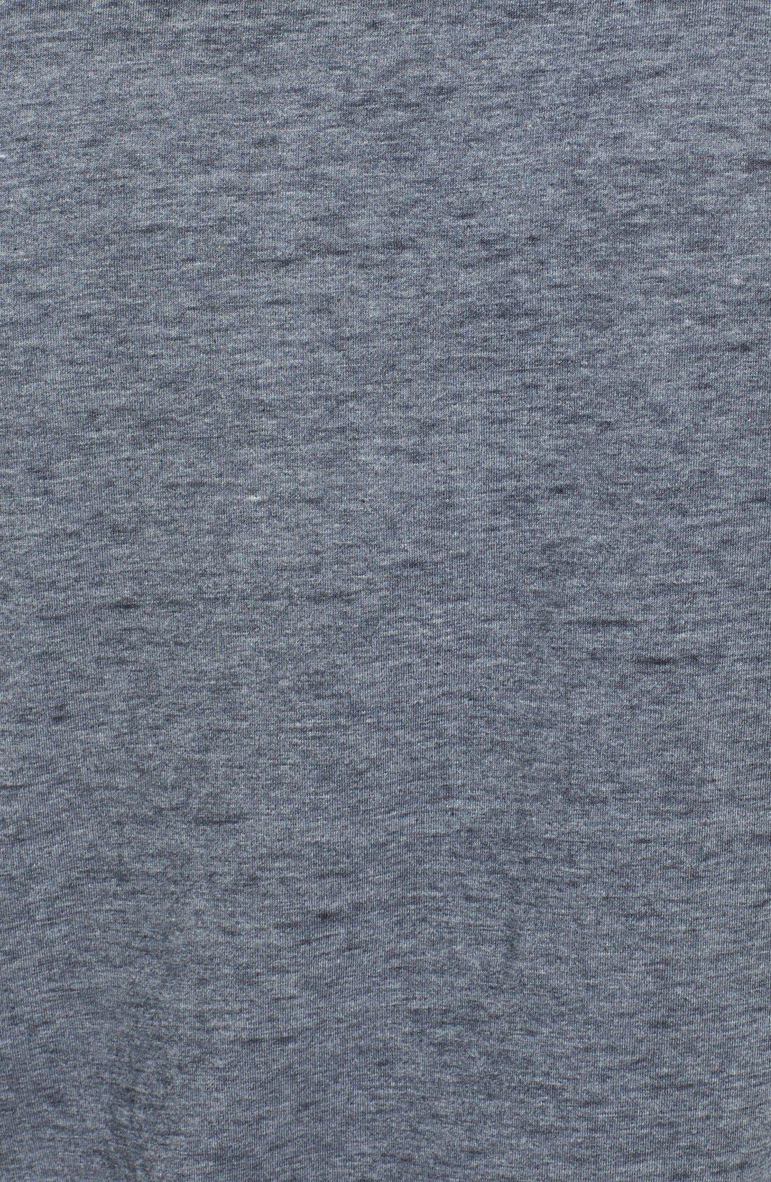 Alternate Image 3  - Red Jacket 'New York Yankees - Burnout' V-Neck T-Shirt