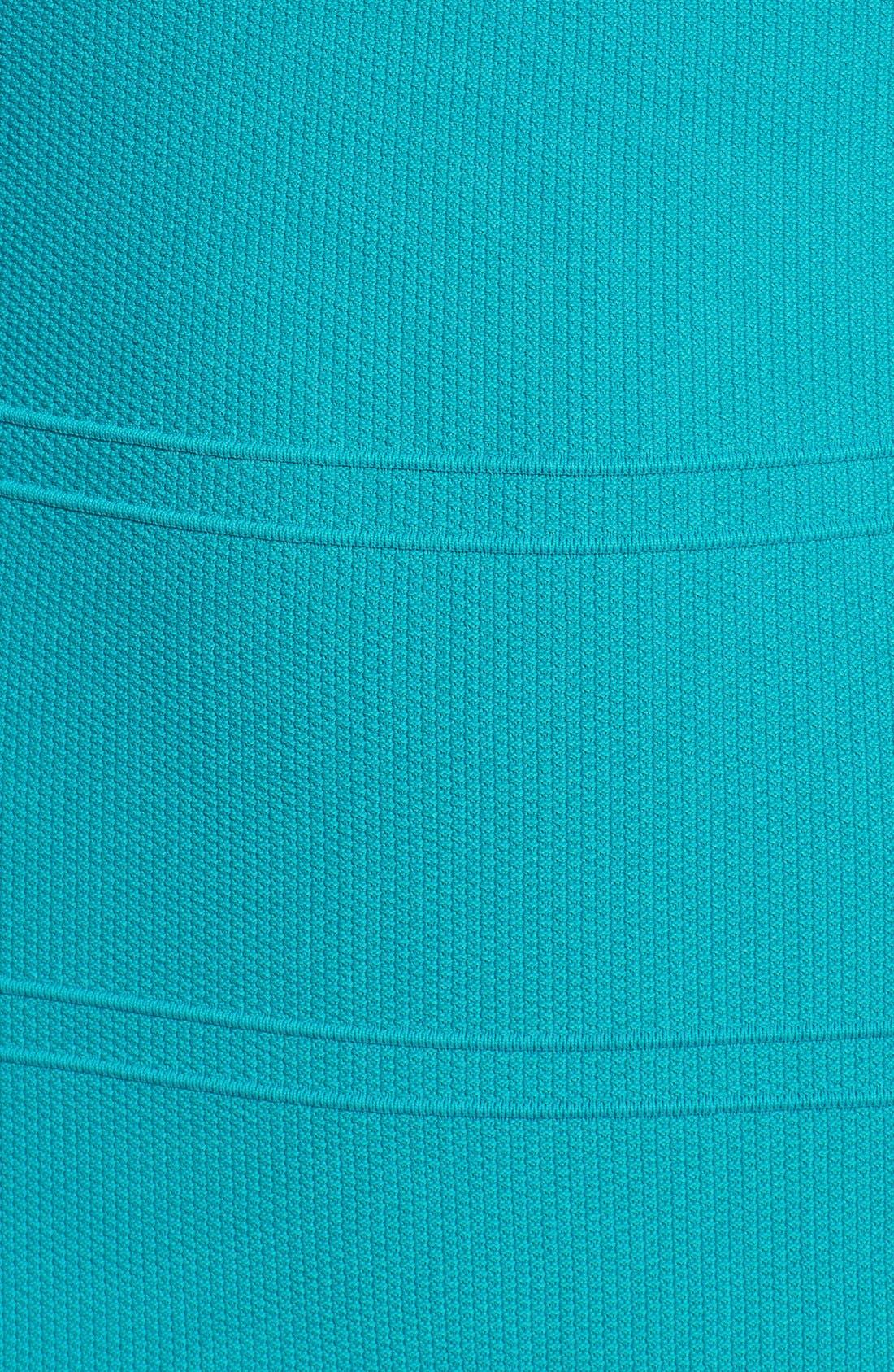 Alternate Image 4  - Nicole Miller Illusion Inset Bandage Knit Dress