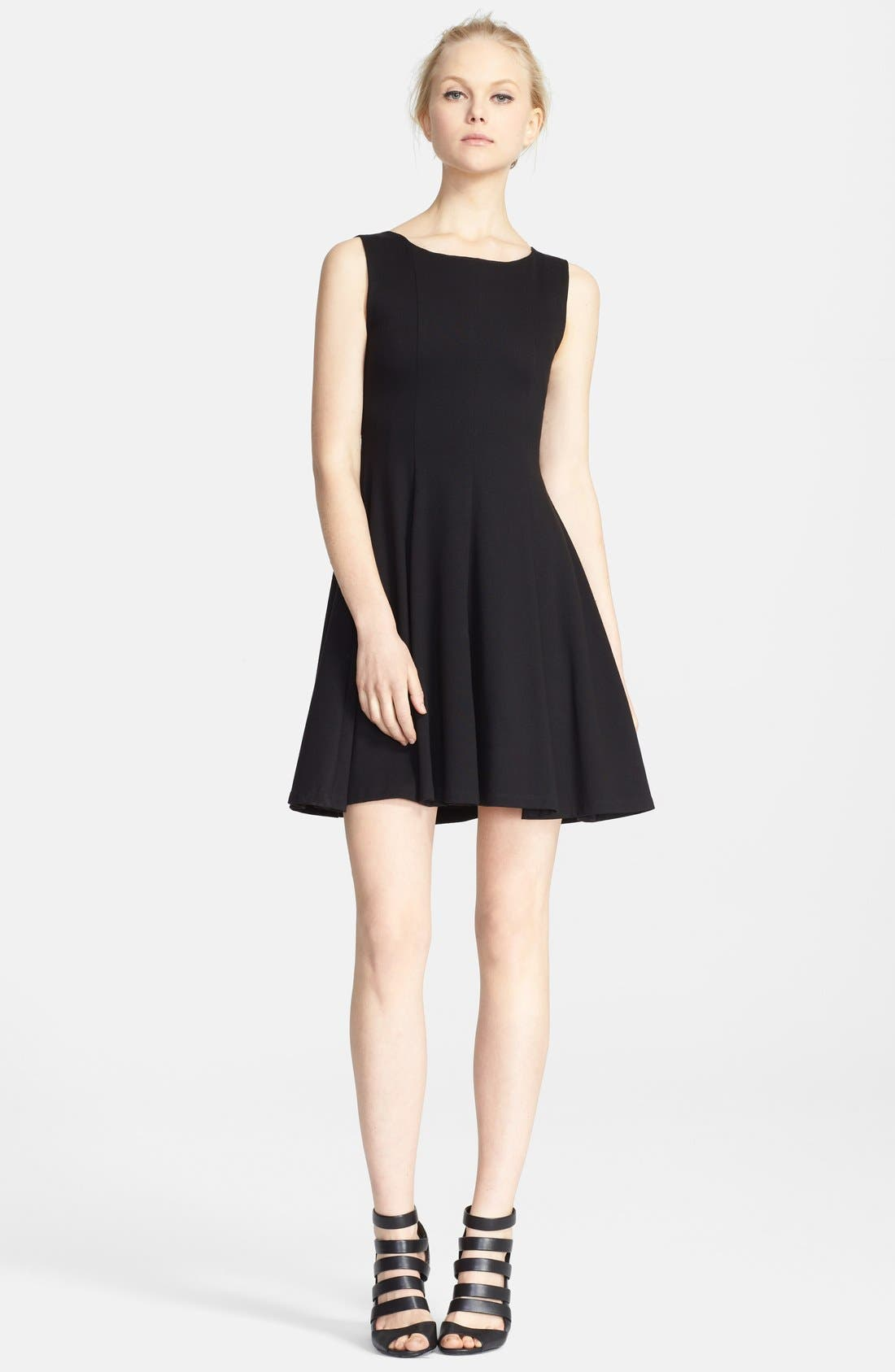 Alternate Image 1 Selected - Alice + Olivia 'Betsy' Seamed Fit & Flare Dress