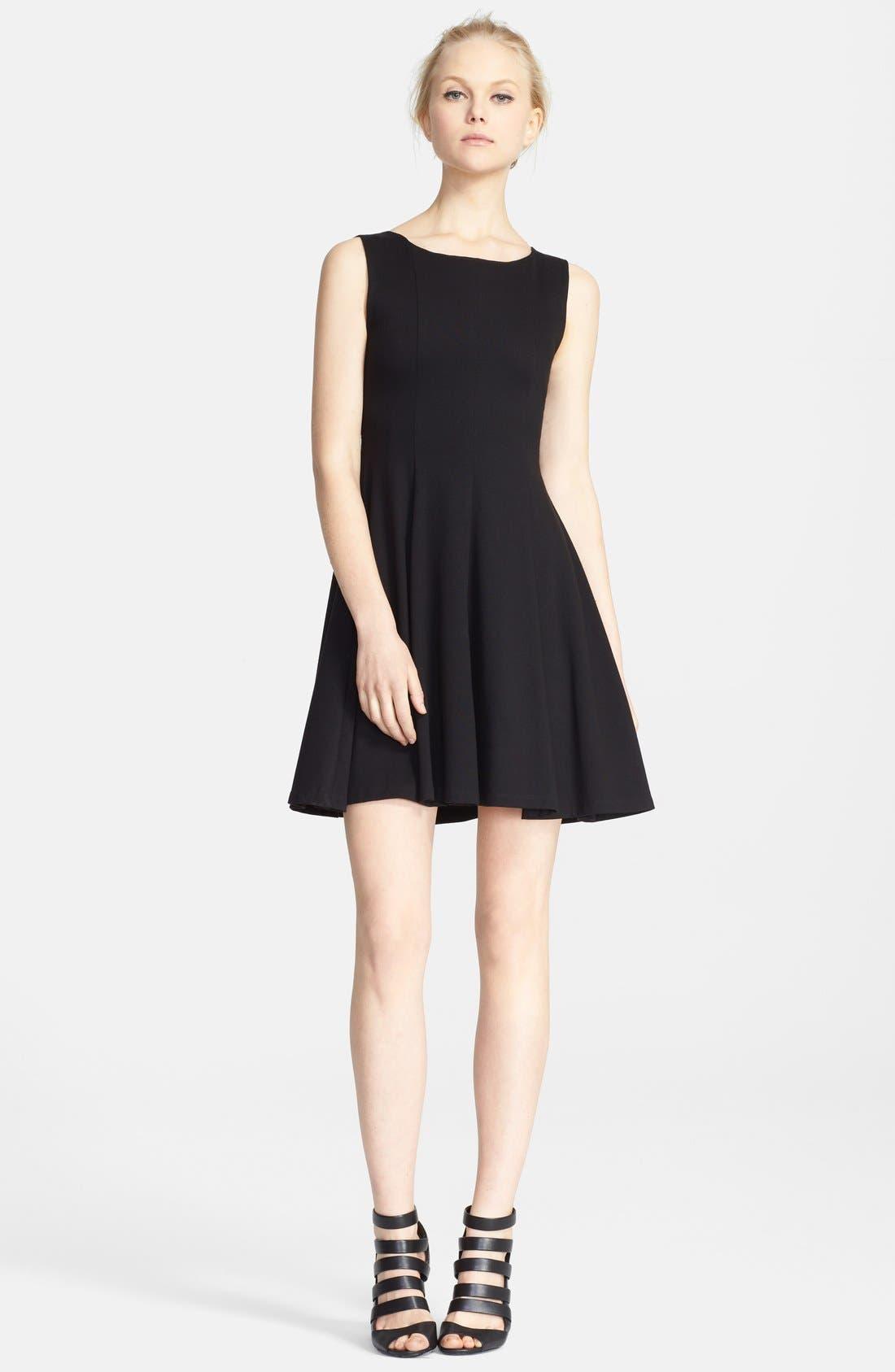 Main Image - Alice + Olivia 'Betsy' Seamed Fit & Flare Dress