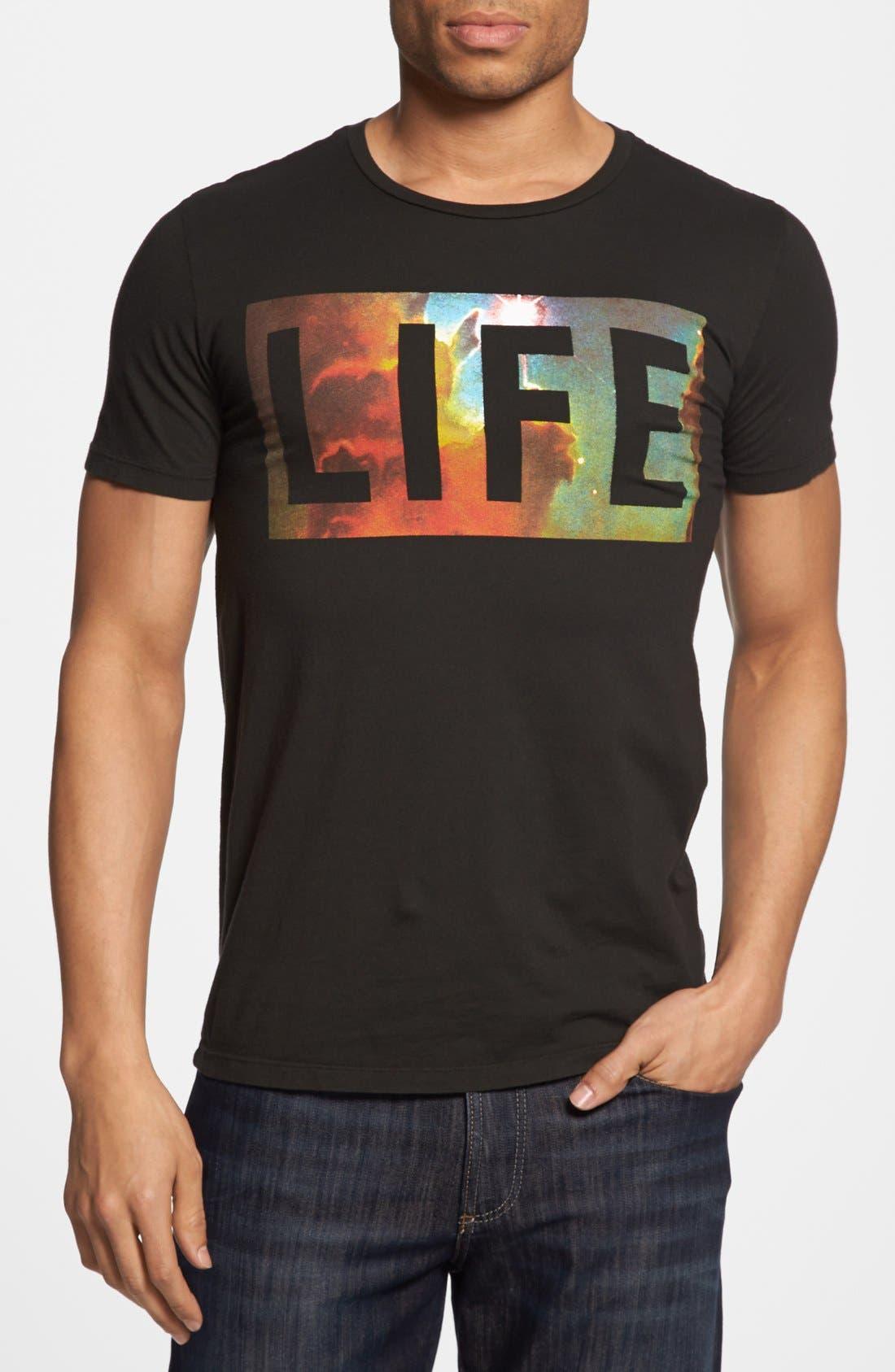 Alternate Image 1 Selected - Altru 'LIFE Nebula' T-Shirt