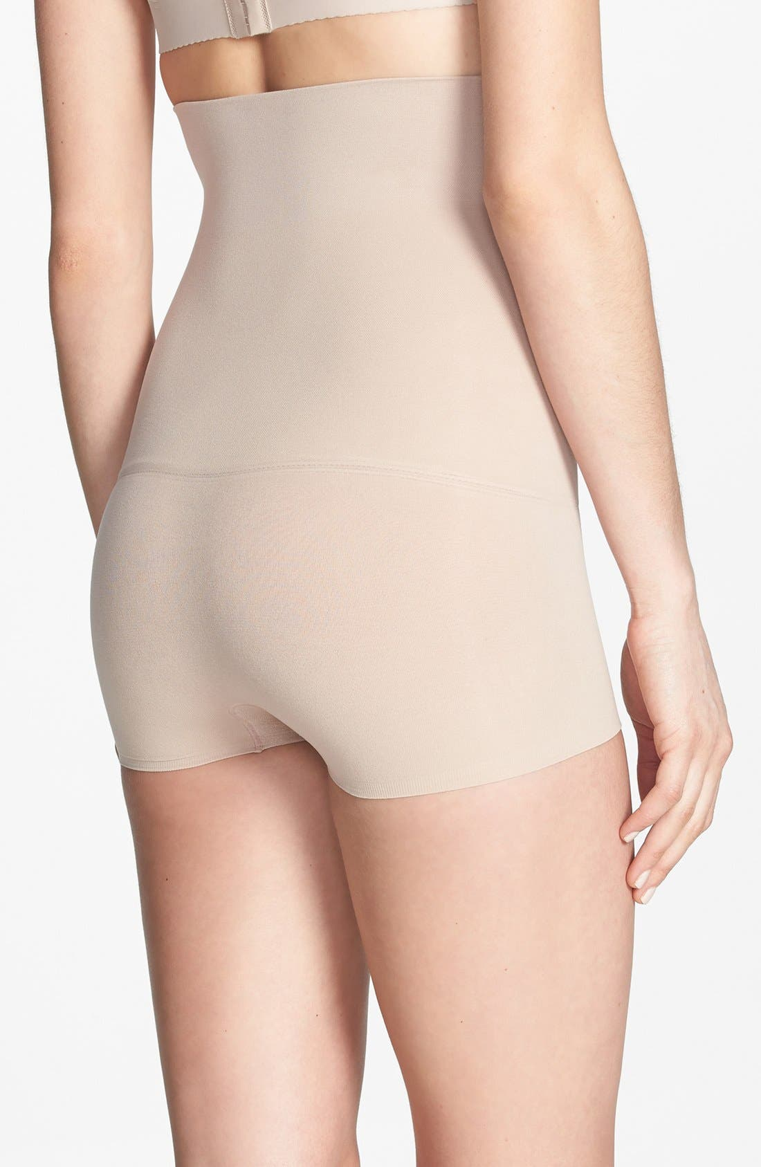Alternate Image 2  - SPANX® 'Haute Contour' High Waist Smoother Shorts