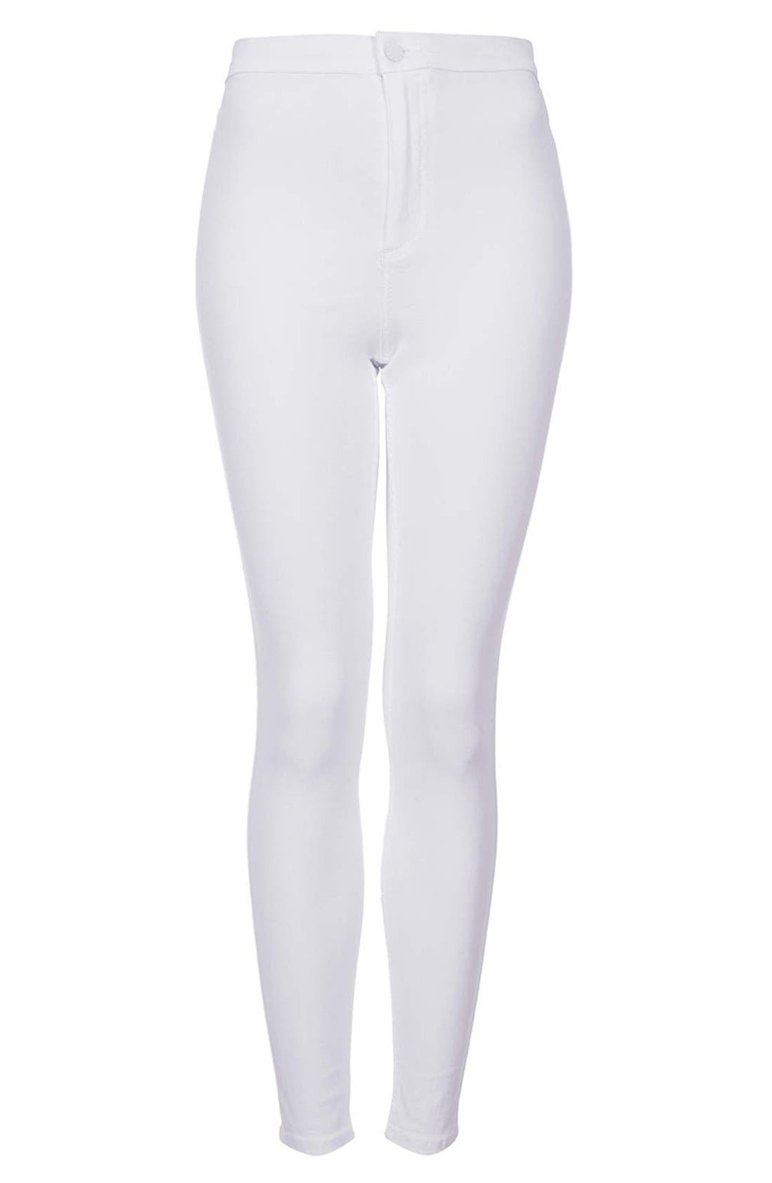 Alternate Image 3  - Topshop Moto 'Joni' High Rise Skinny Jeans (Regular & Long)