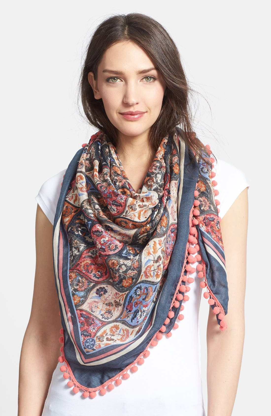 Alternate Image 1 Selected - Tory Burch 'Anatolia' Square Scarf