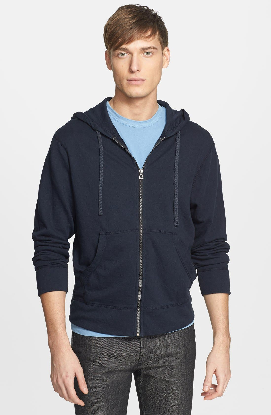 Alternate Image 1 Selected - James Perse Classic Zip Hoodie