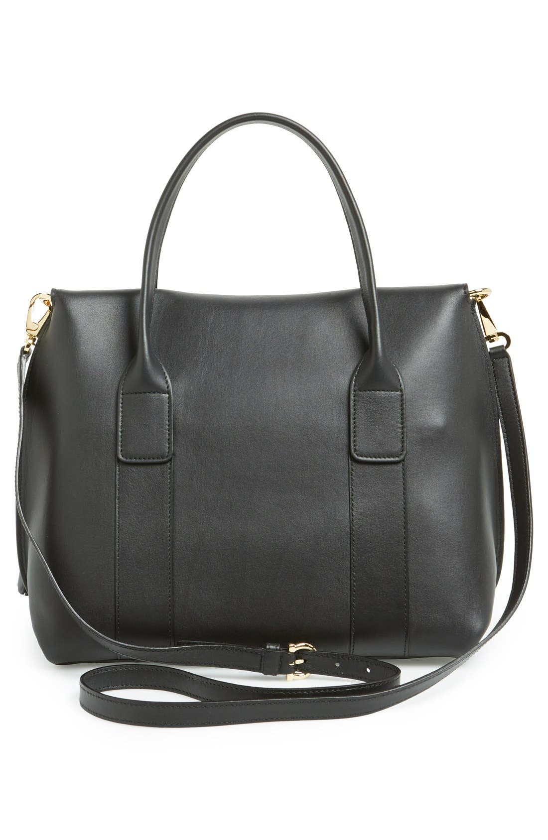 Alternate Image 4  - Salvatore Ferragamo 'Mini Sookie' Leather Satchel