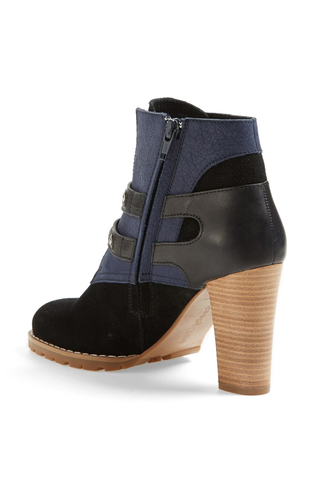Alternate Image 2  - See by Chloé 'Katia' Suede & Leather Bootie