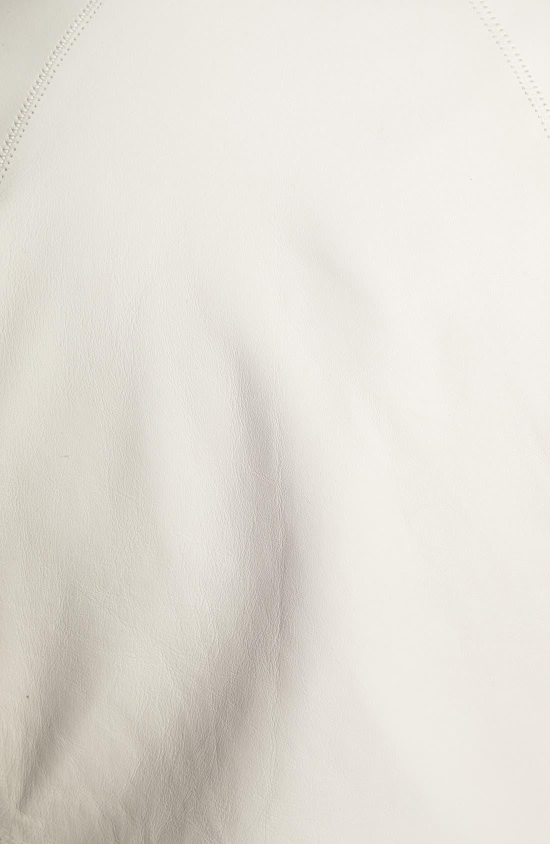 Alternate Image 3  - Elie Tahari 'Suella' Studded Sleeve Leather Jacket