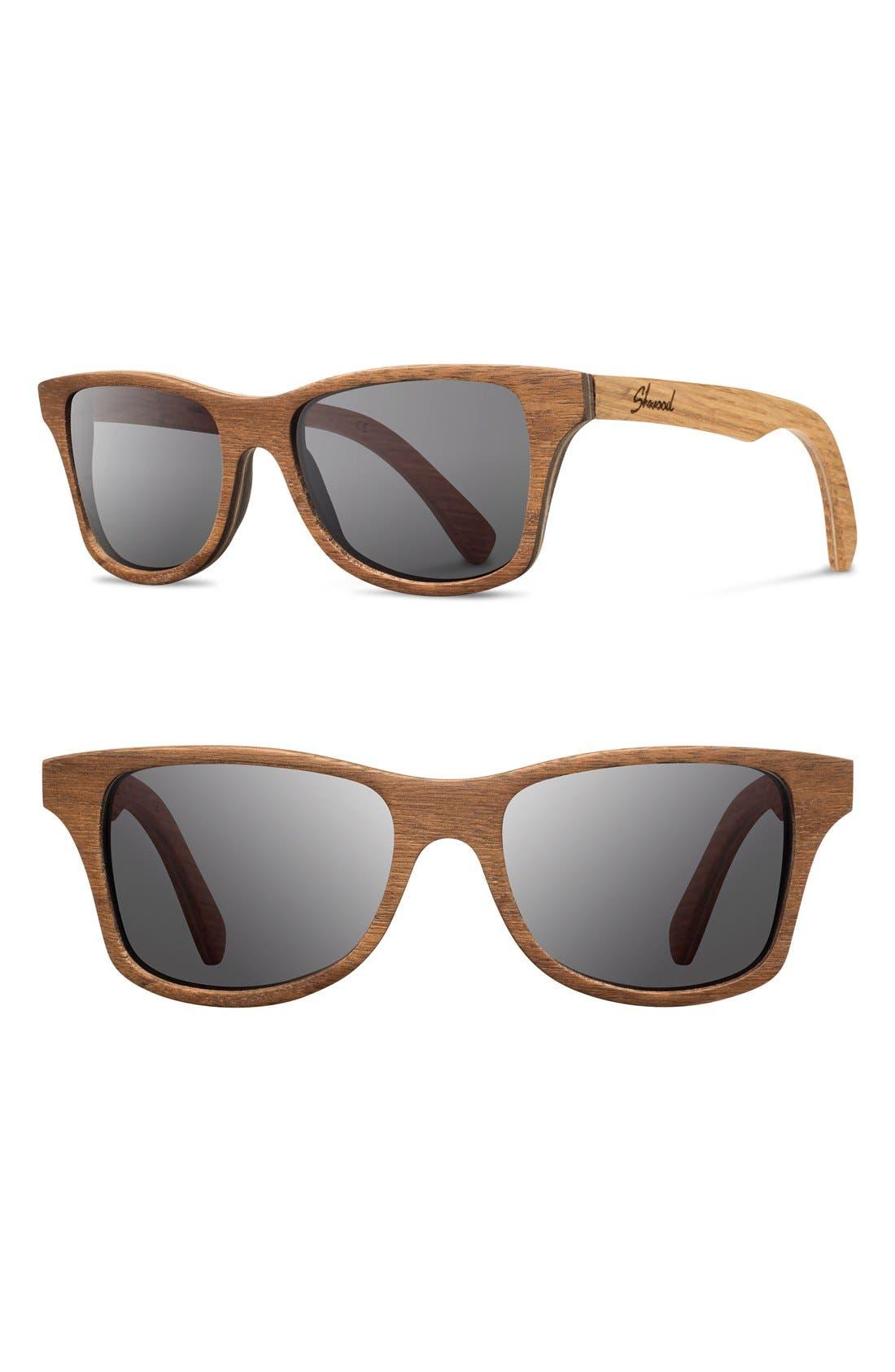 Main Image - Shwood 'Canby' 54mm Wood Sunglasses