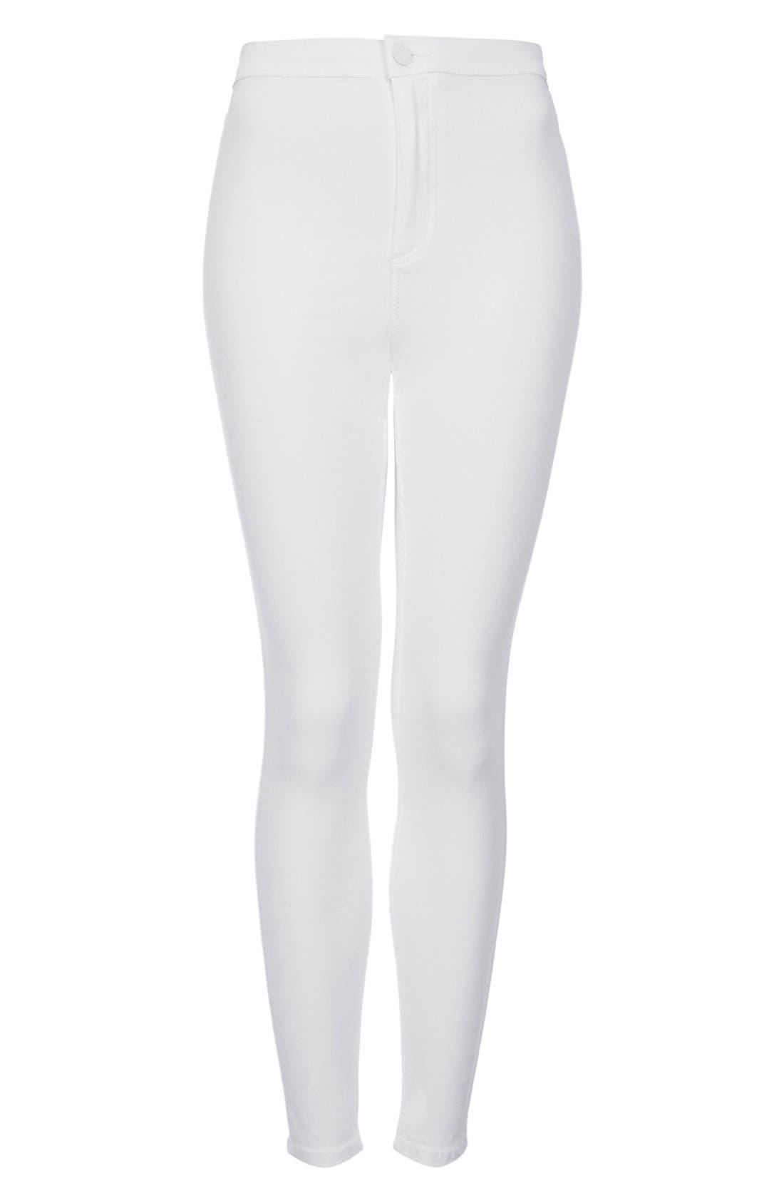 Alternate Image 3  - Topshop Moto 'Joni' High Rise Skinny Jeans (Petite)