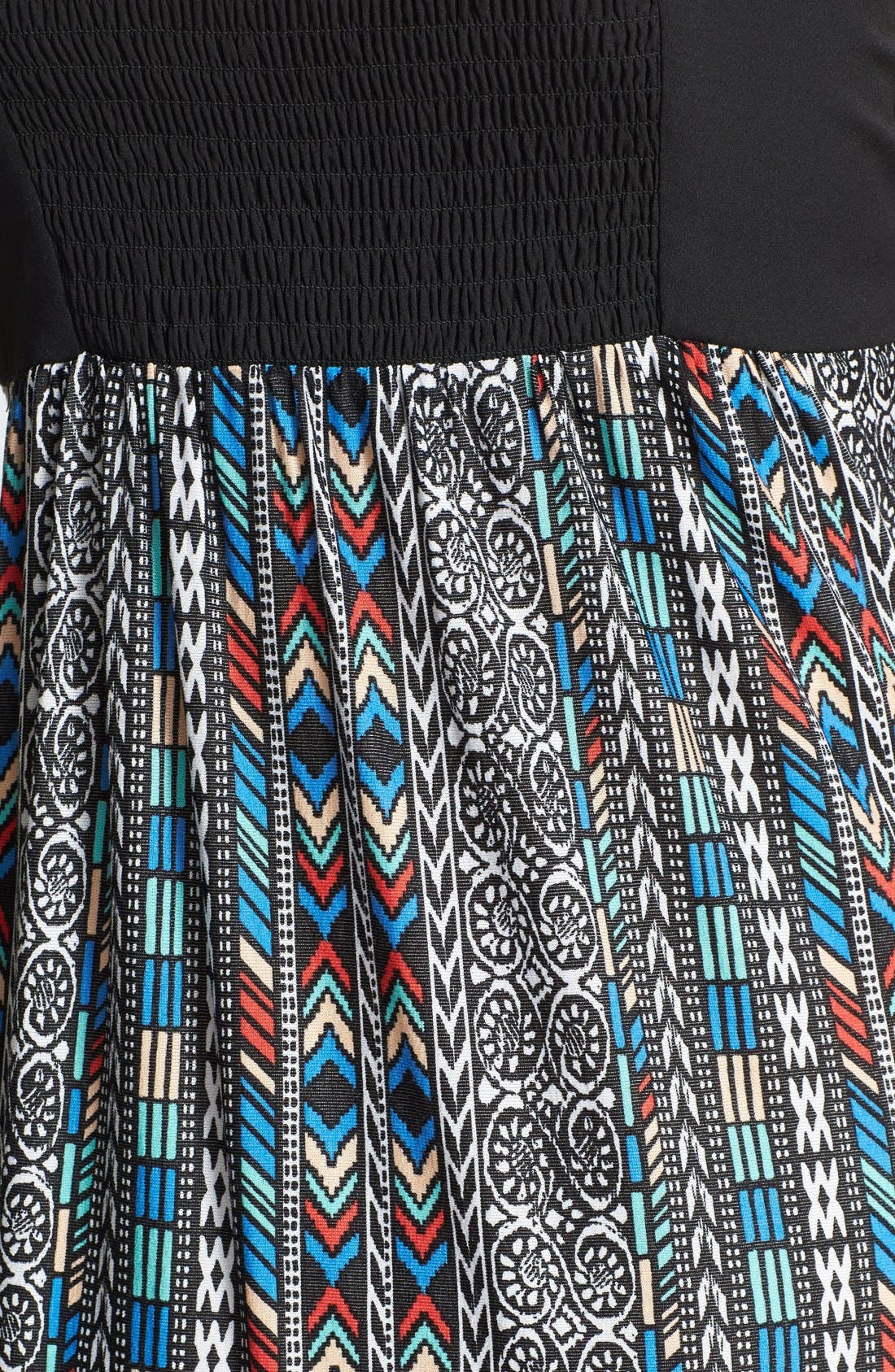Alternate Image 3  - Maia Crochet & Print Maxi Dress