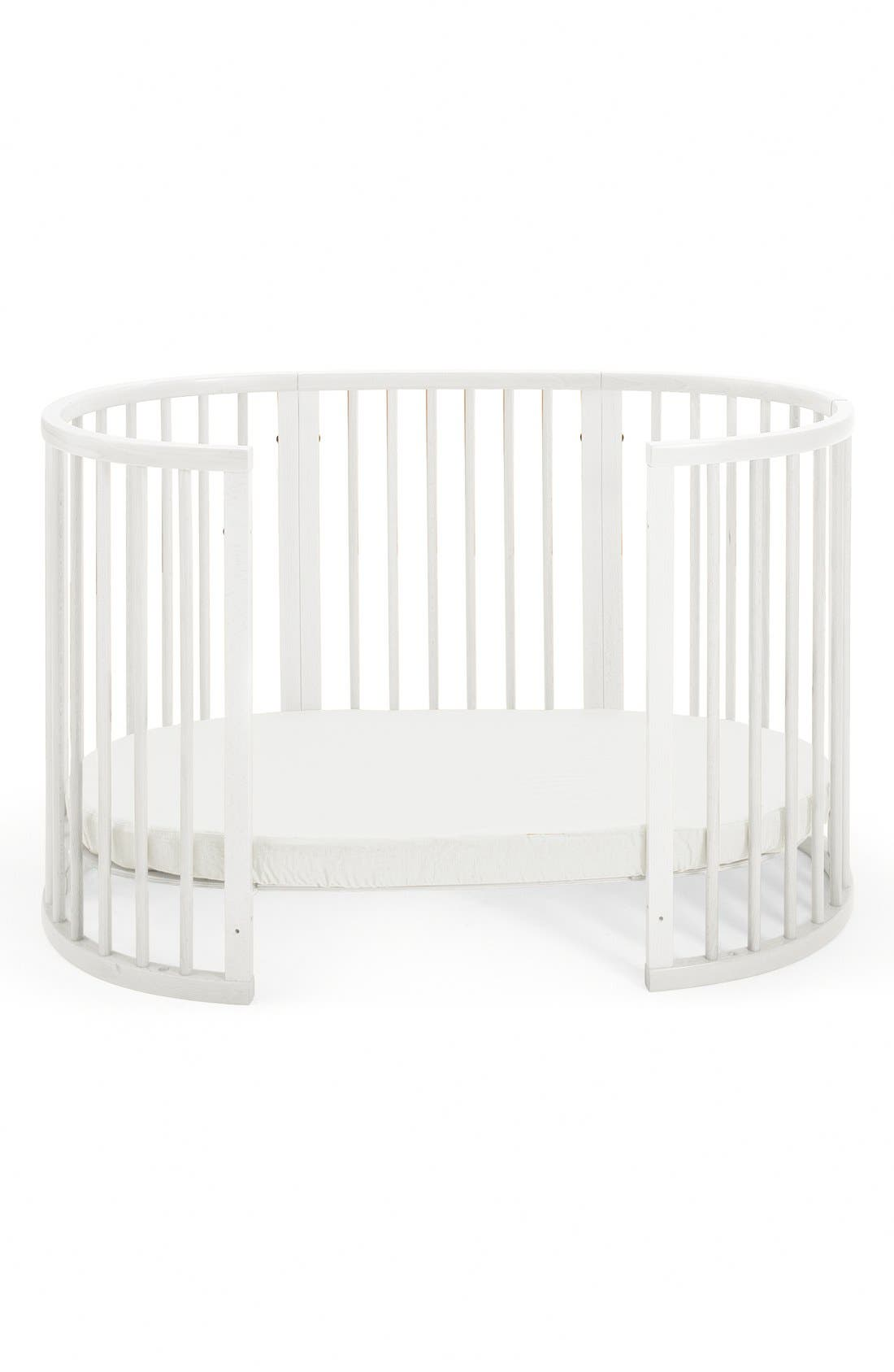 Convertible Sleepi Crib & Toddler Bed,                             Alternate thumbnail 2, color,                             White