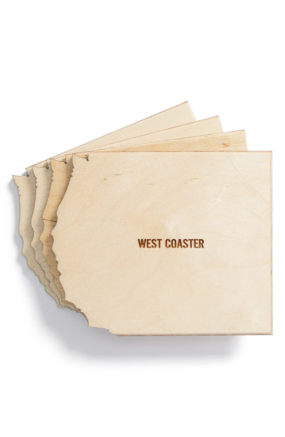 Main Image - Reed Wilson Design 'North Coaster' Coasters (Set of 4)